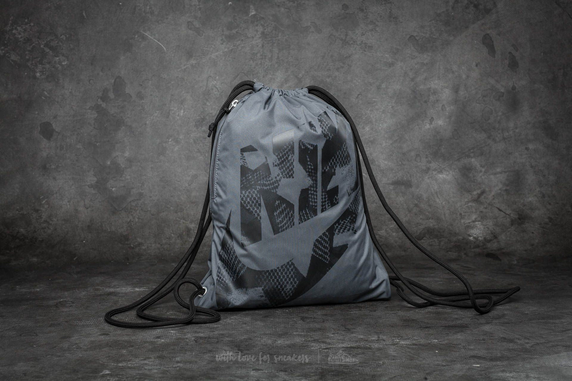 Nike Heritage Gymsack Dark Grey/ Black