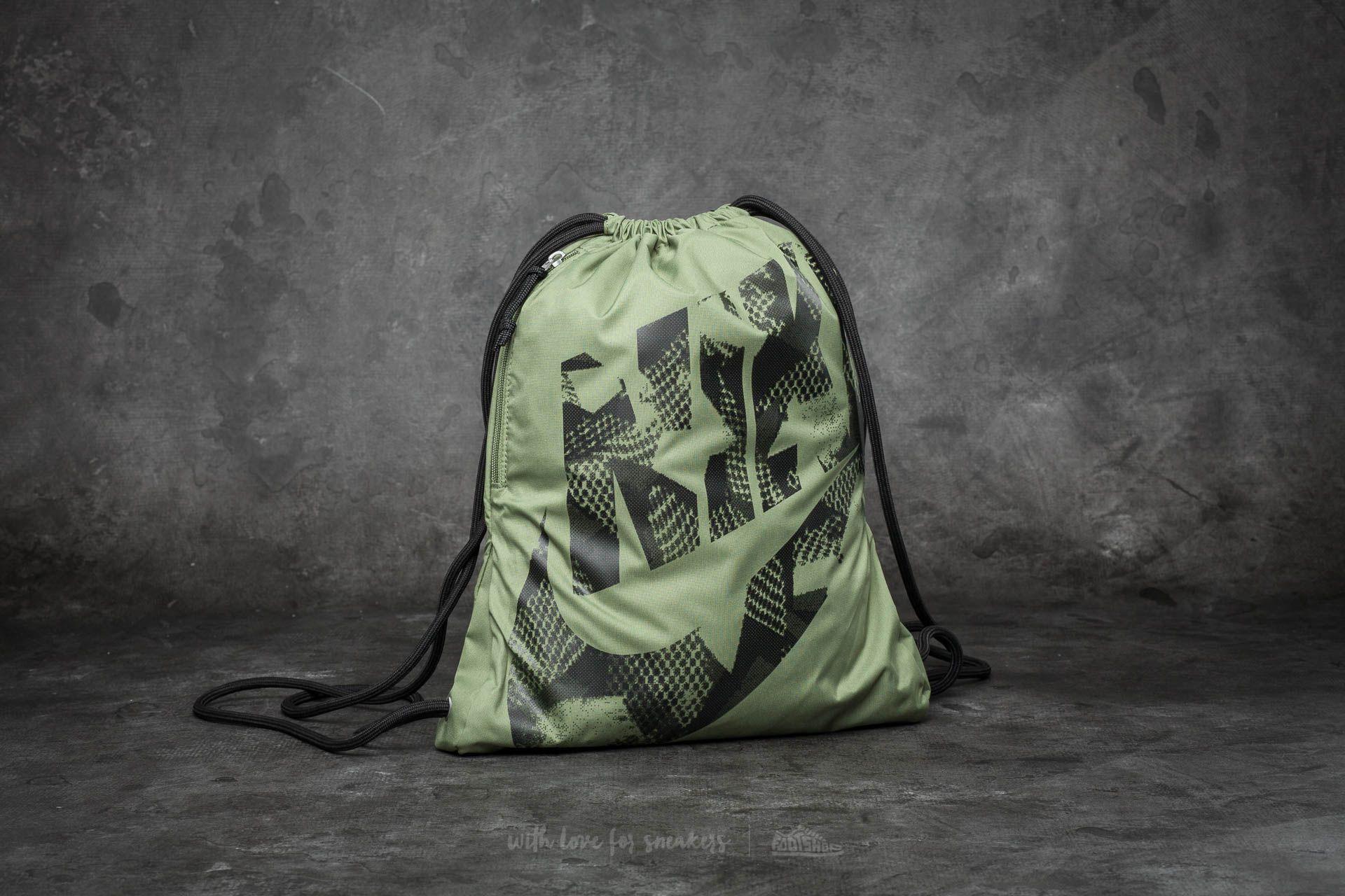 Nike Heritage Gymsack Legion Green/ Black