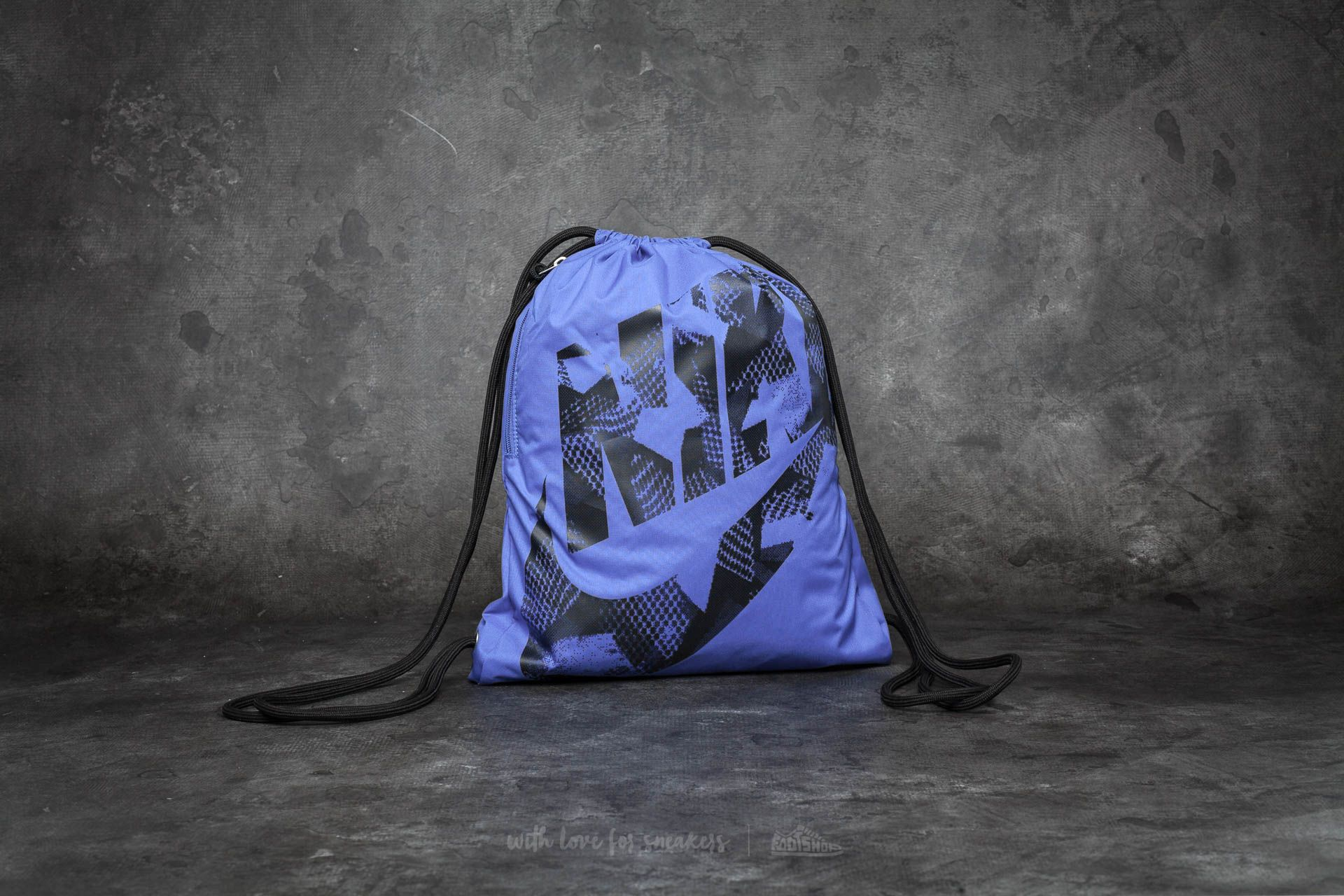 Nike Heritage Gymsack Gym Blue/ Black