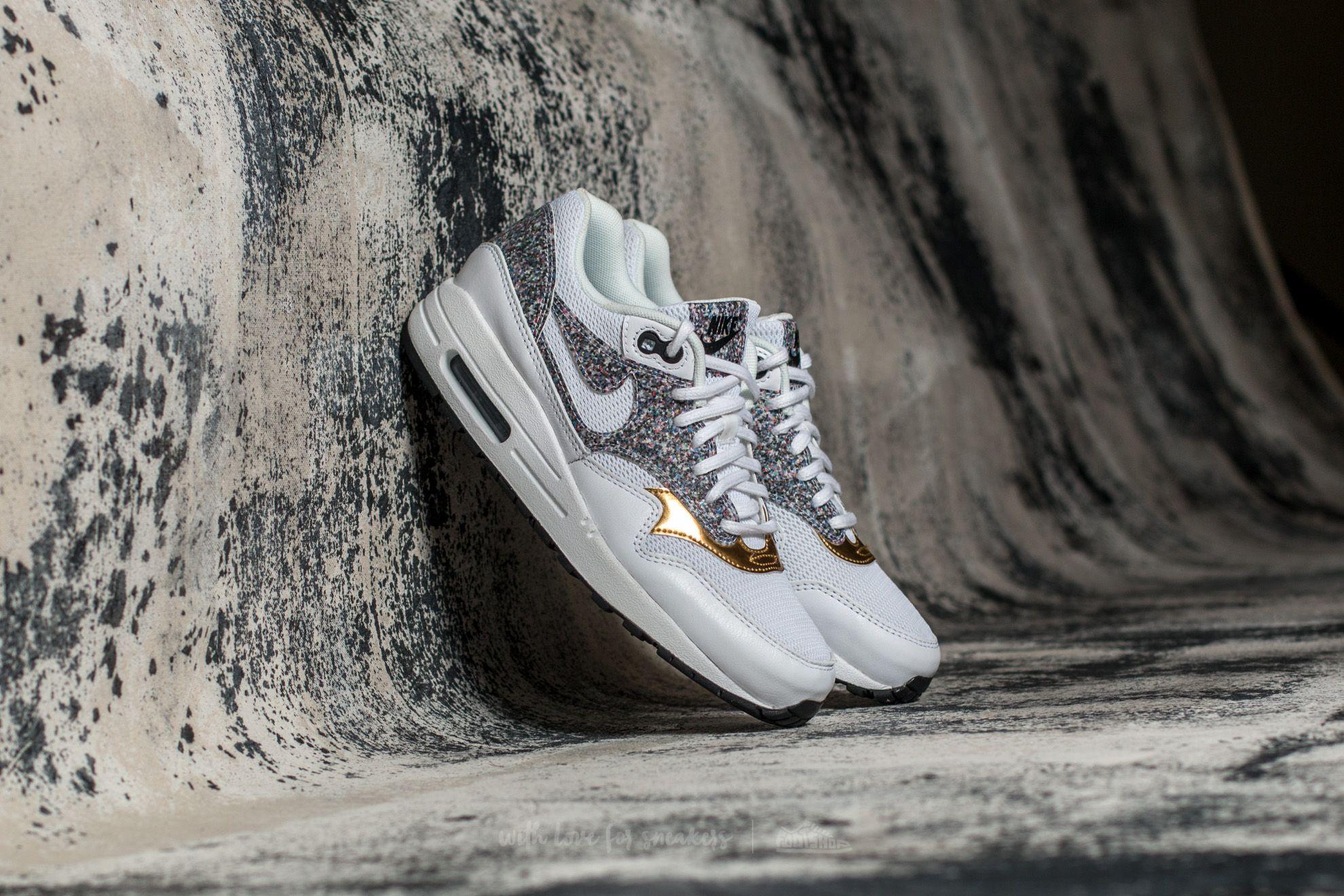 Nike Wmns Air Max 1 SE White/ White-Black