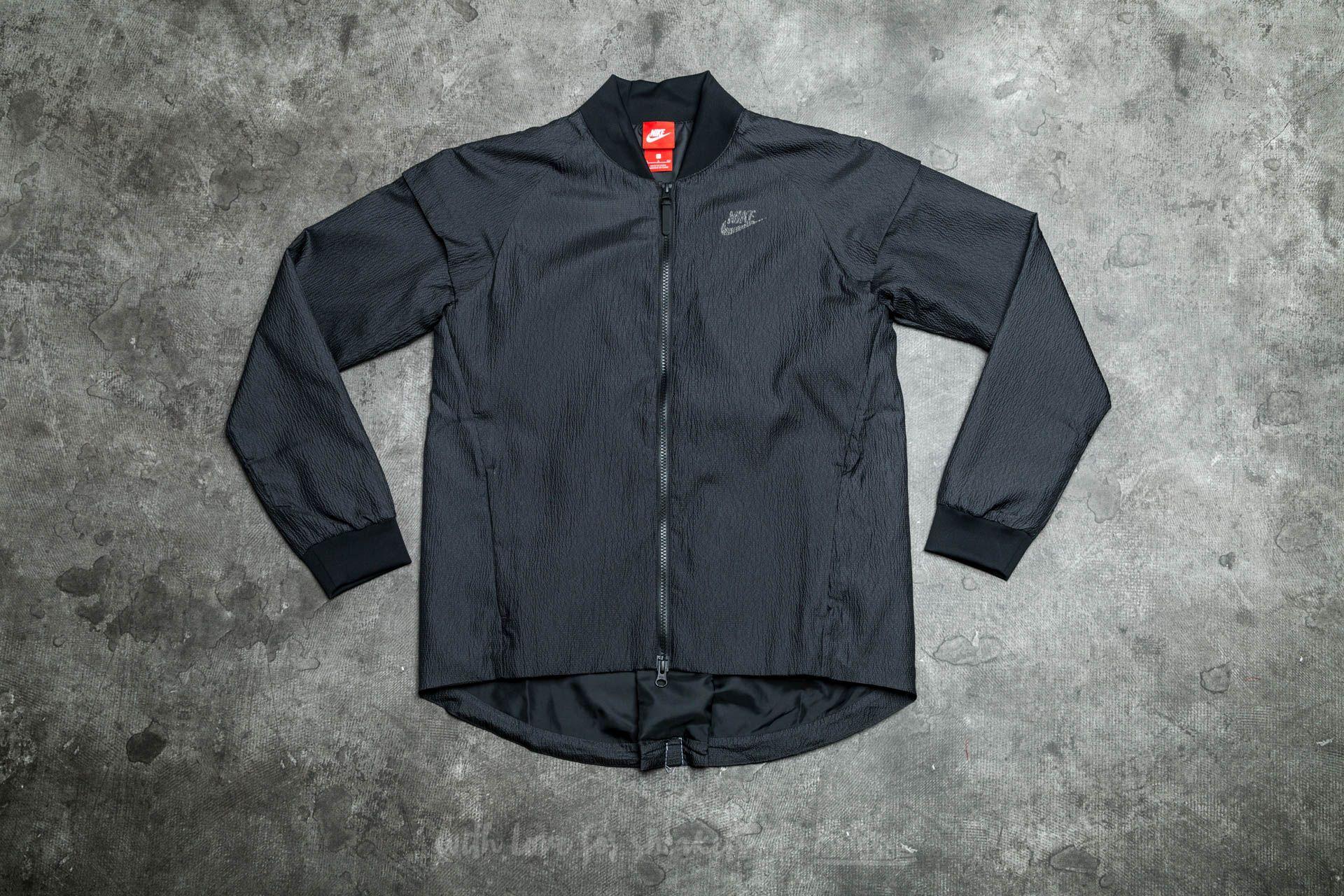 Nike W Sportswear Tech Woven Jacket Black