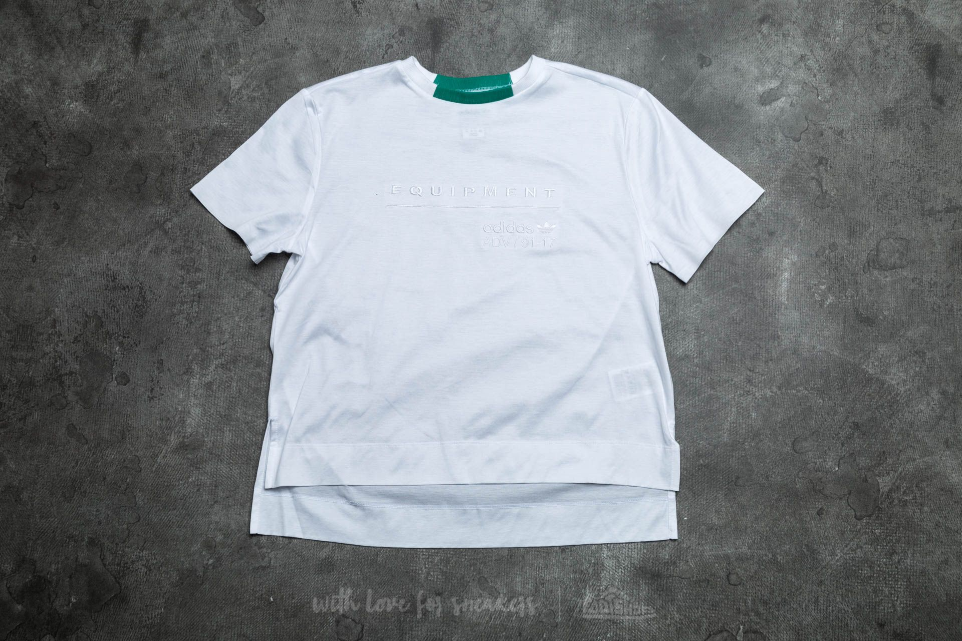 adidas Equipment Tee White