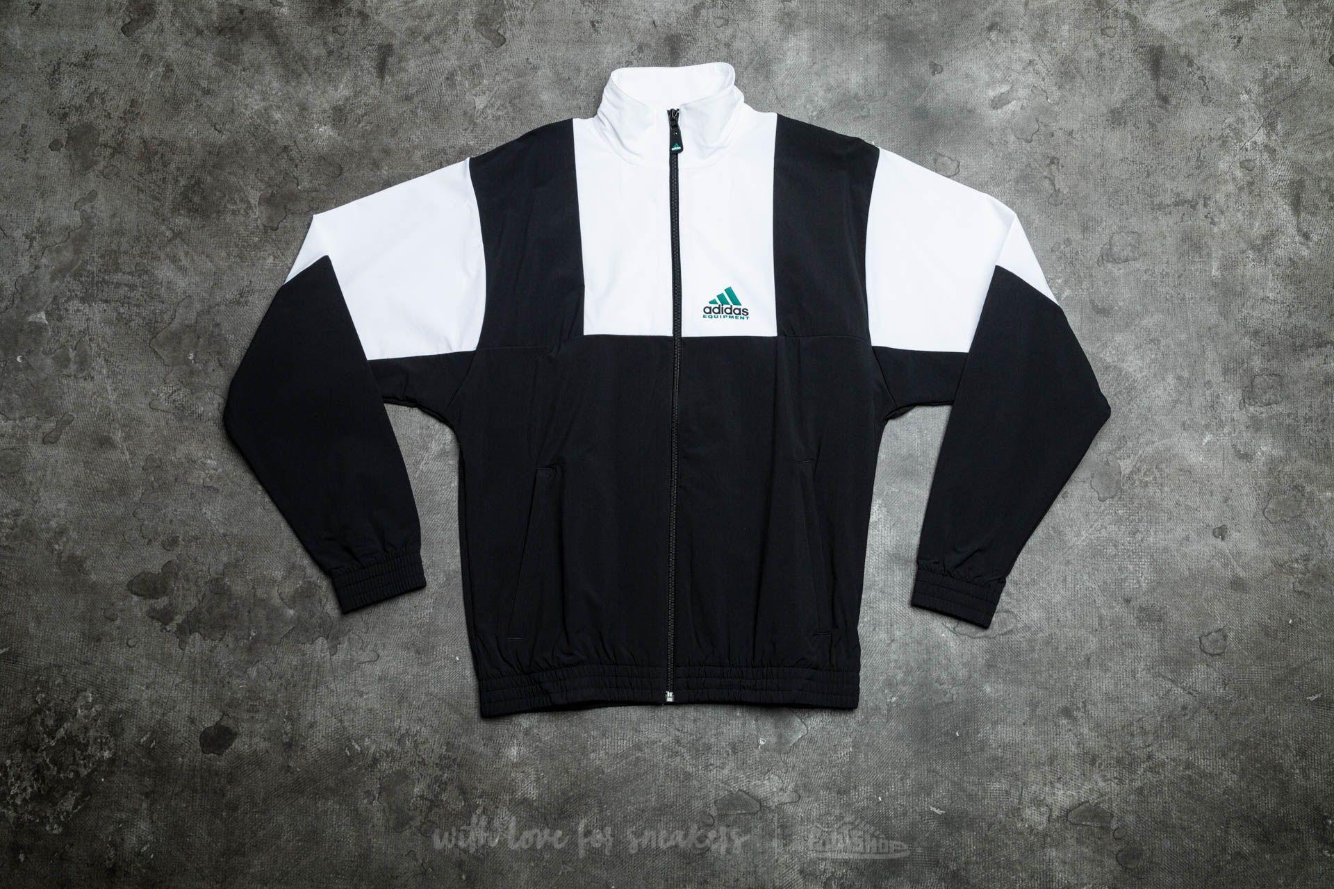 adidas Equipment 1TO1 Track Jacket Black/ White