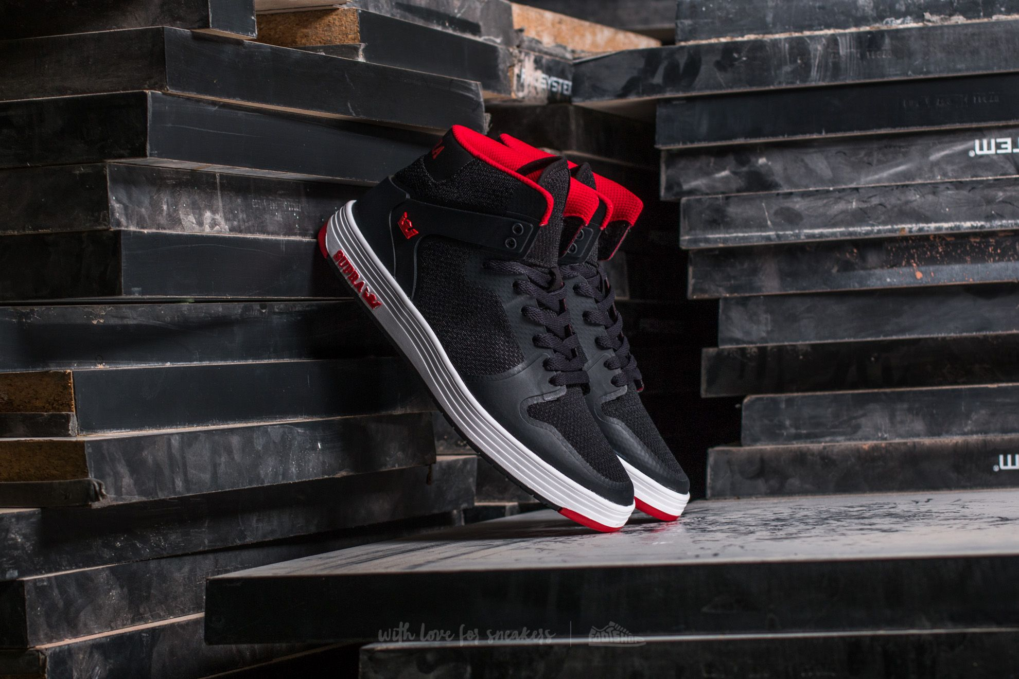 Supra Vaider 2.0 Black-Red