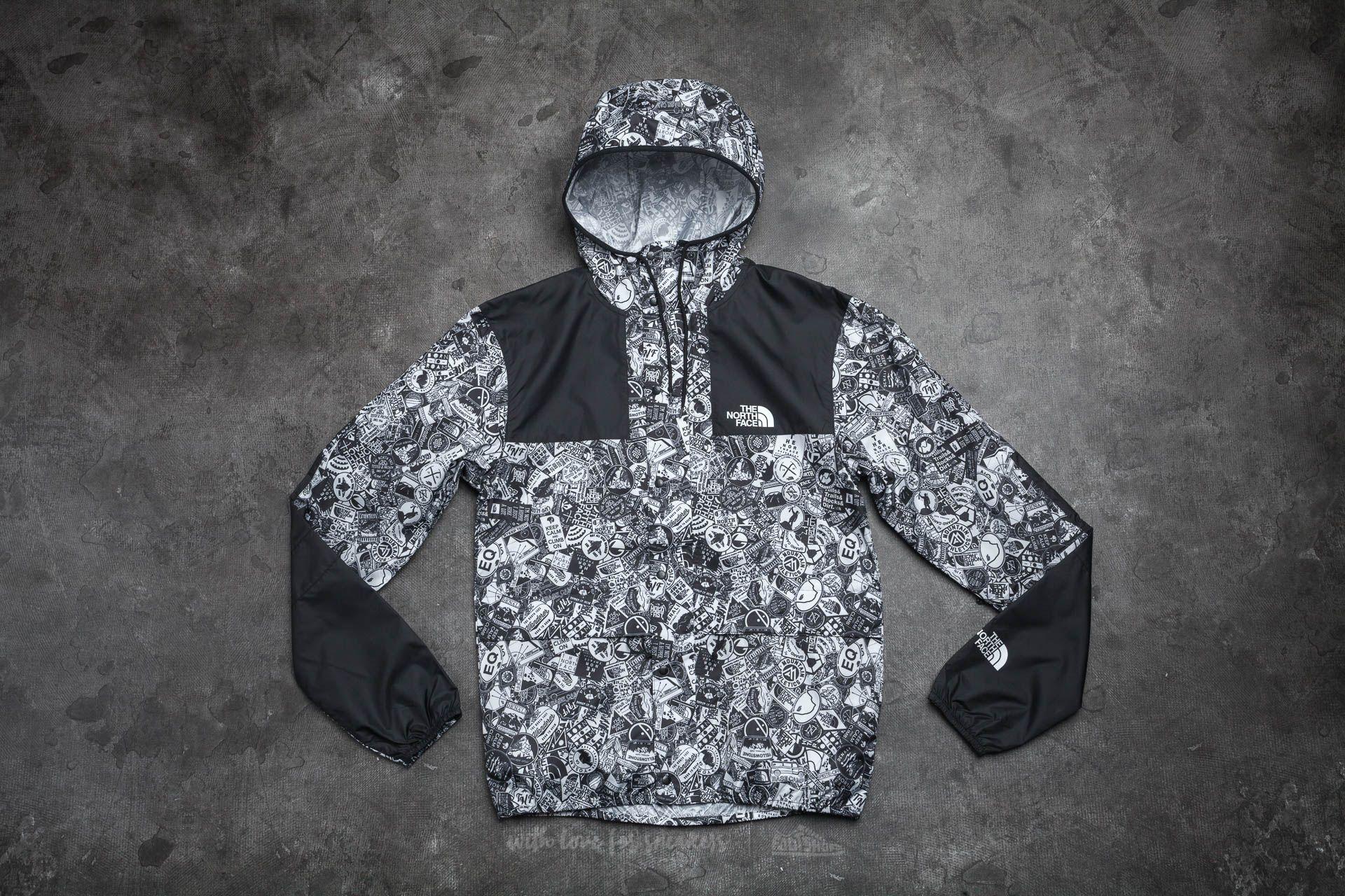 The North Face 1985 Mountain Jacket Tnf White/ Tnf Black