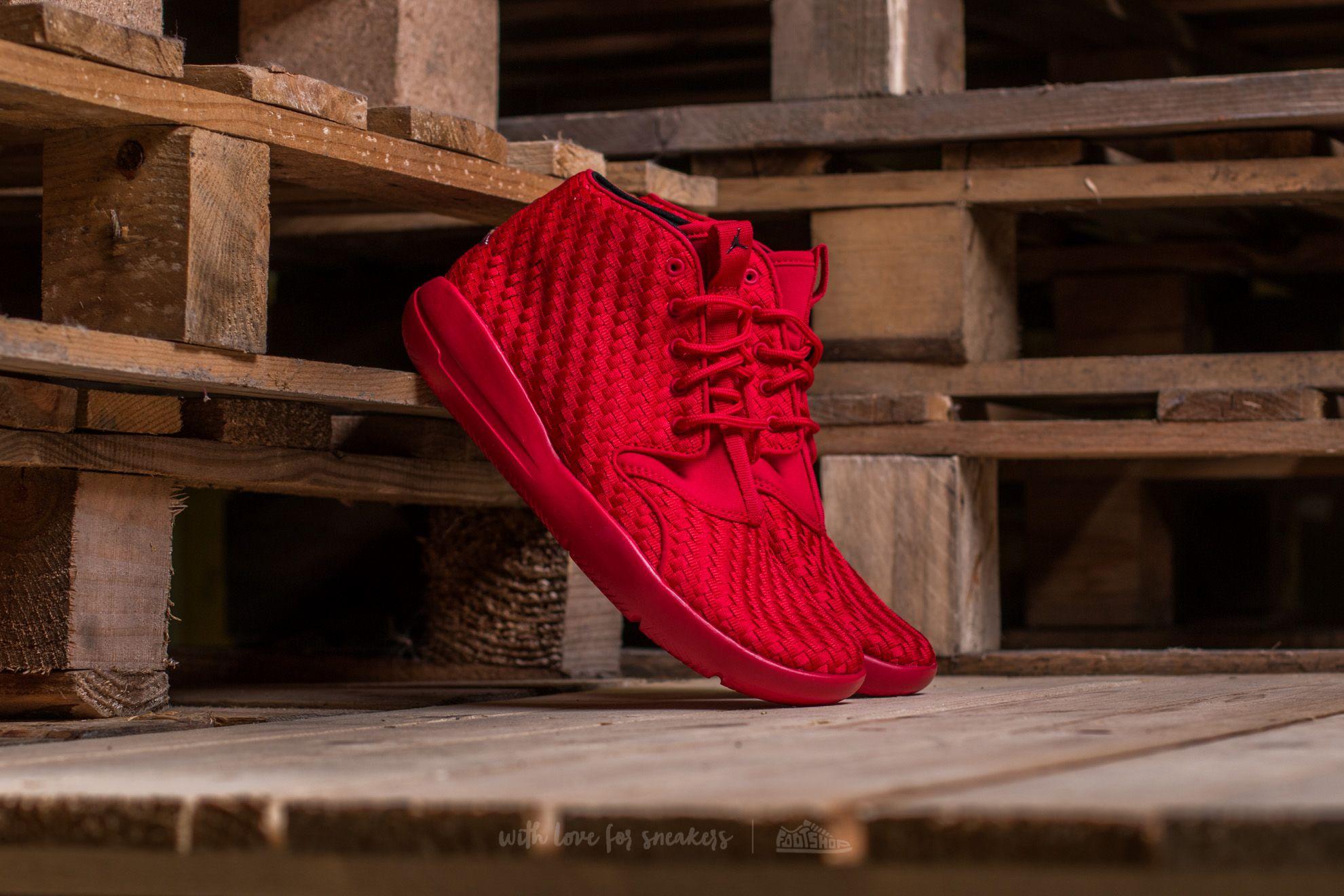 Jordan Eclipse Chukka Woven BG Gym Red/ Black