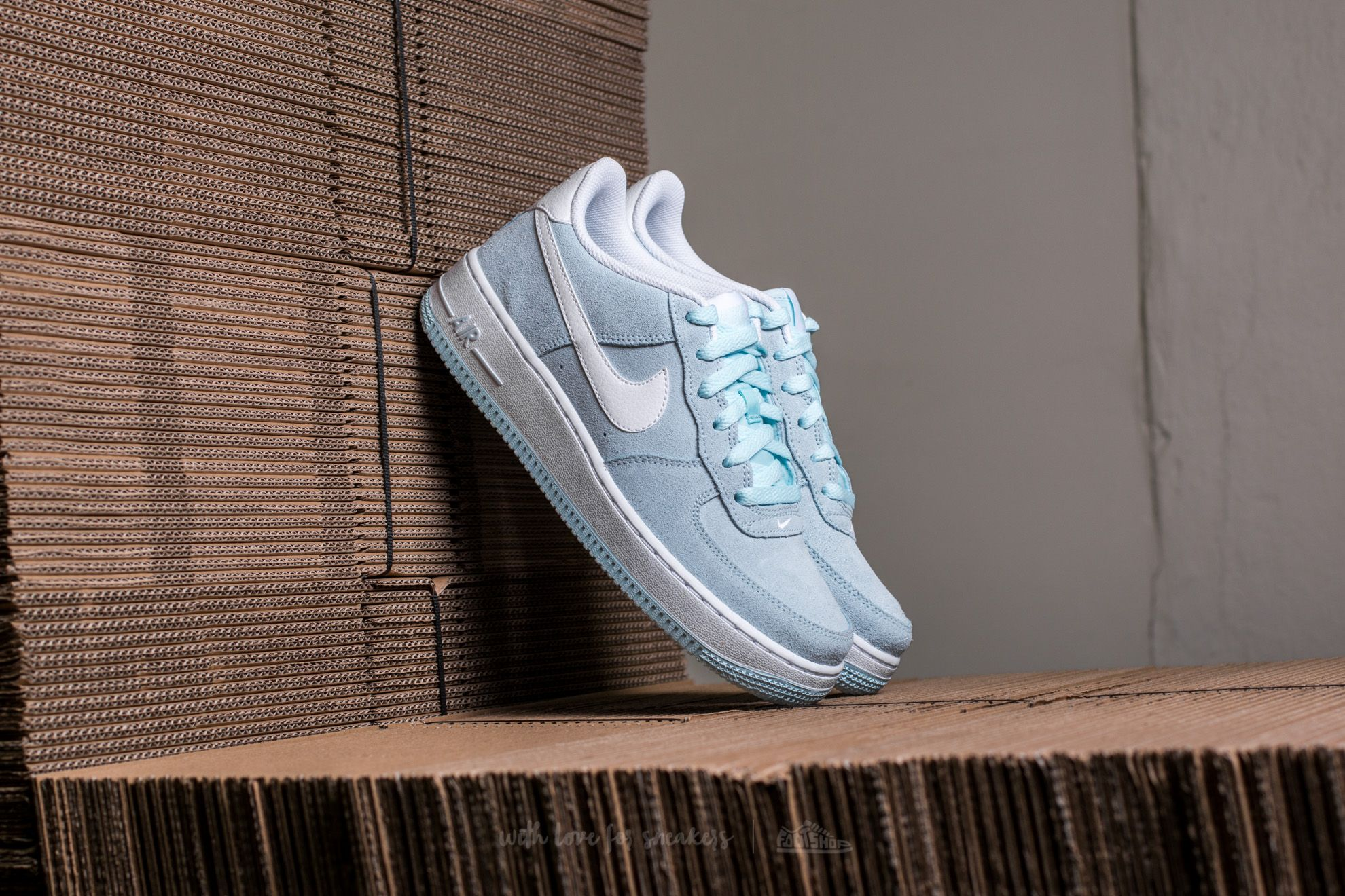 Nike Air Force 1 (GS) Glacier Blue/ White
