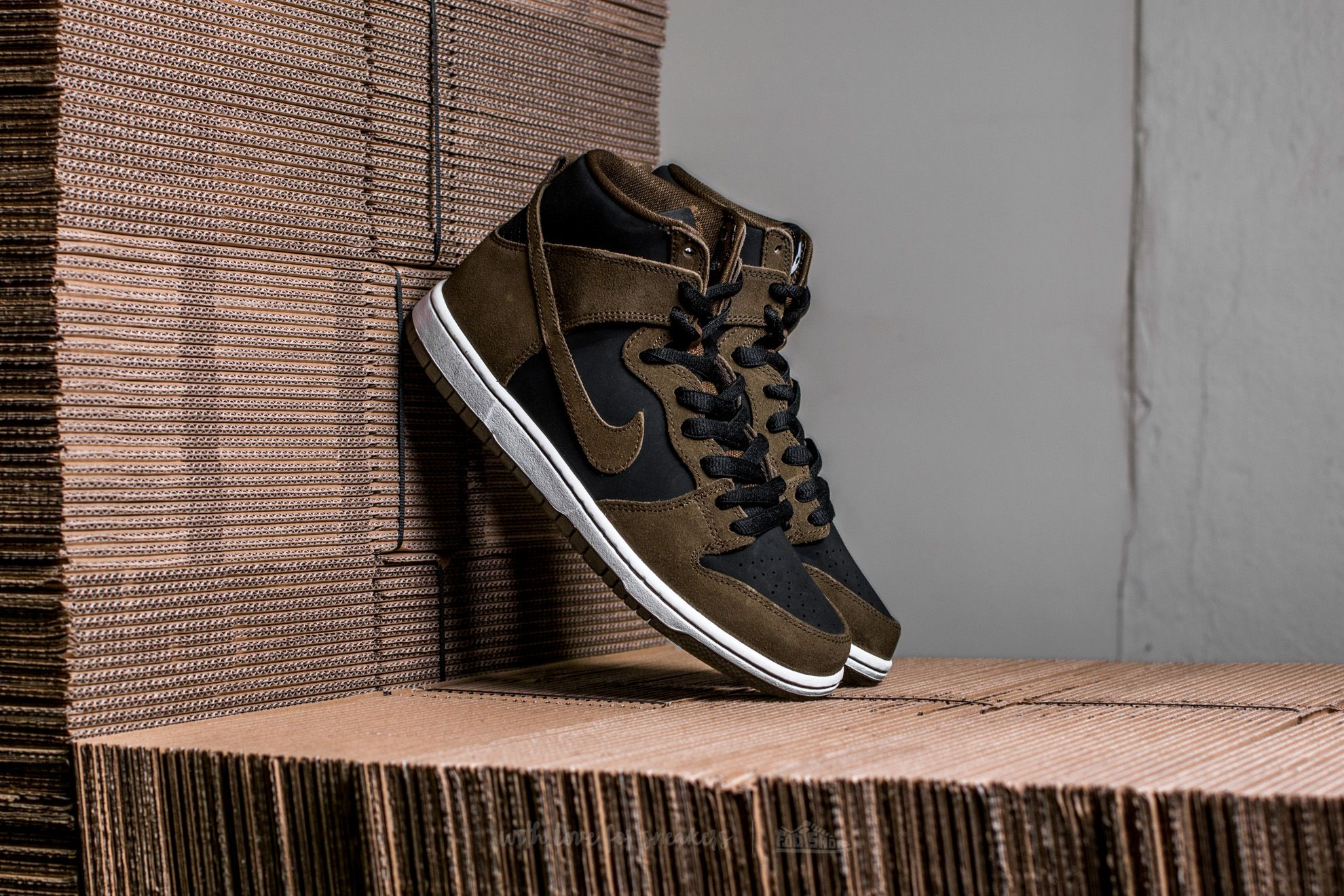 Nike SB Zoom Dunk High Pro Dark Loden/ Dark Loden-Black