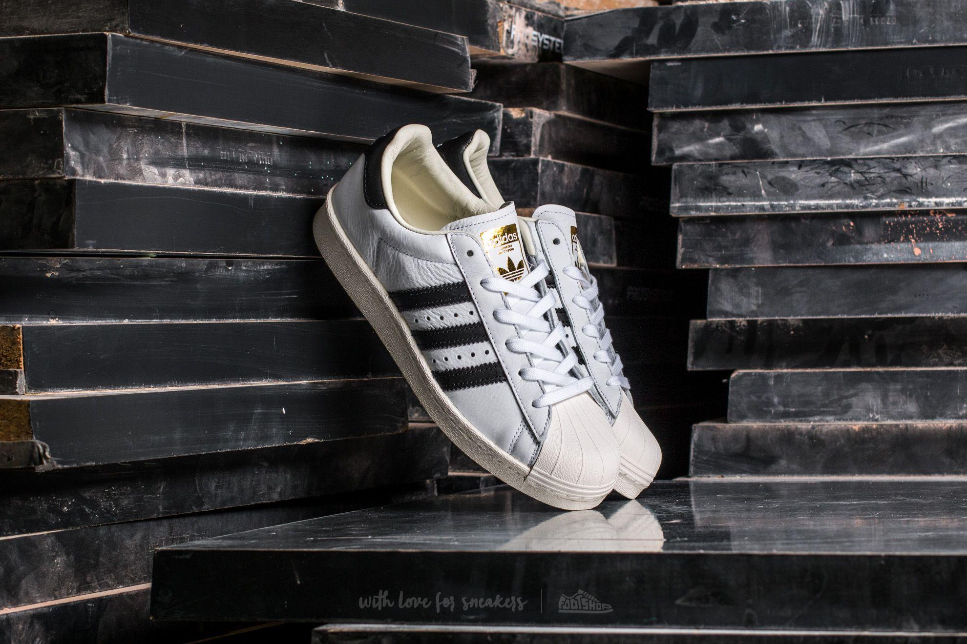 adidas Superstar BOOST Ftw White/ Core Black/ Gold Metallic