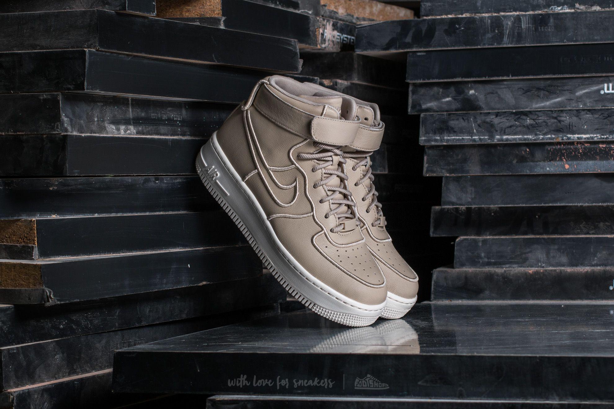 Nike Wmns Air Force 1 Upstep Hi SI Oatmeal/ Oatmeal-Ivory