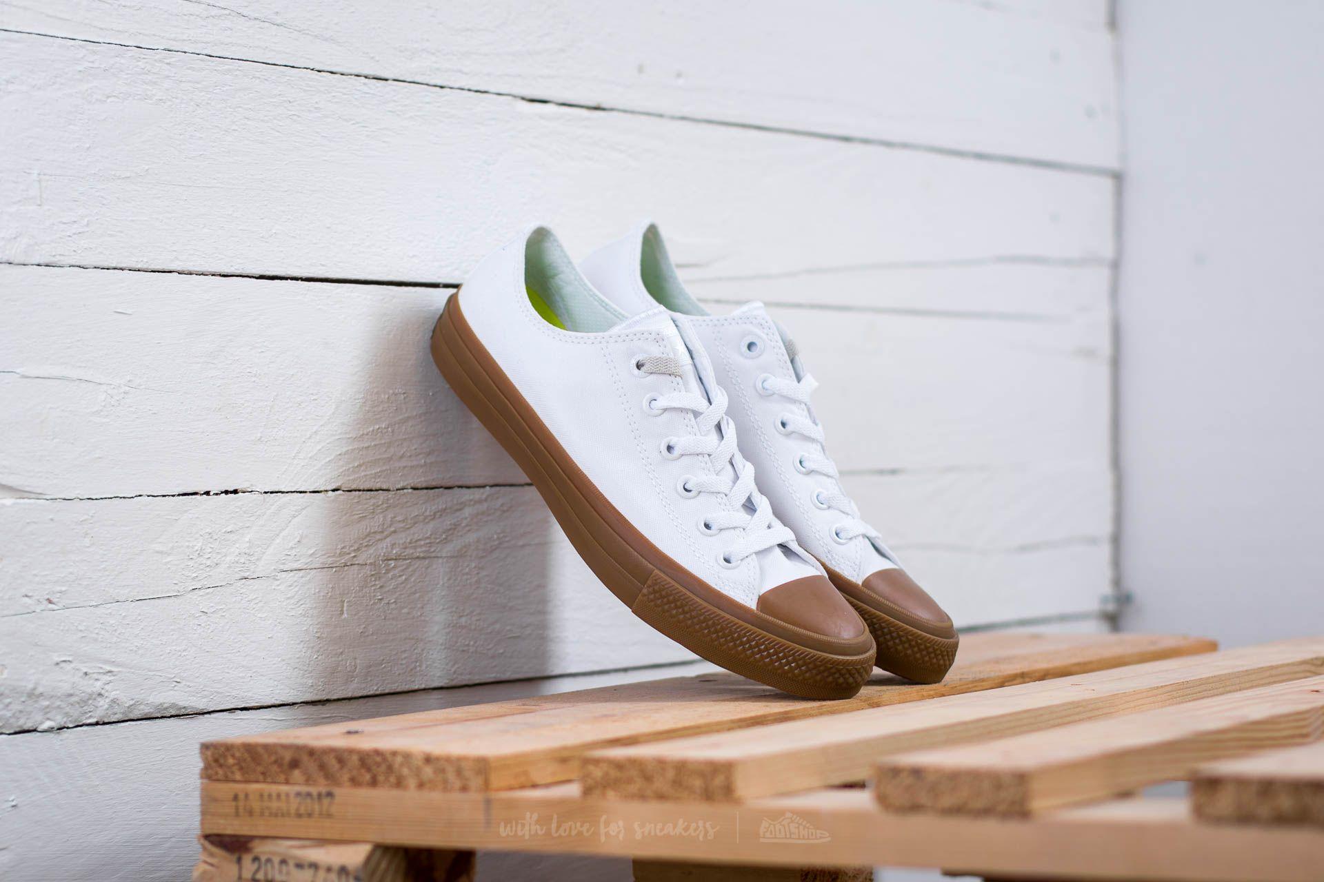 Converse Chuck Taylor AS II OX White/ White/ Gum