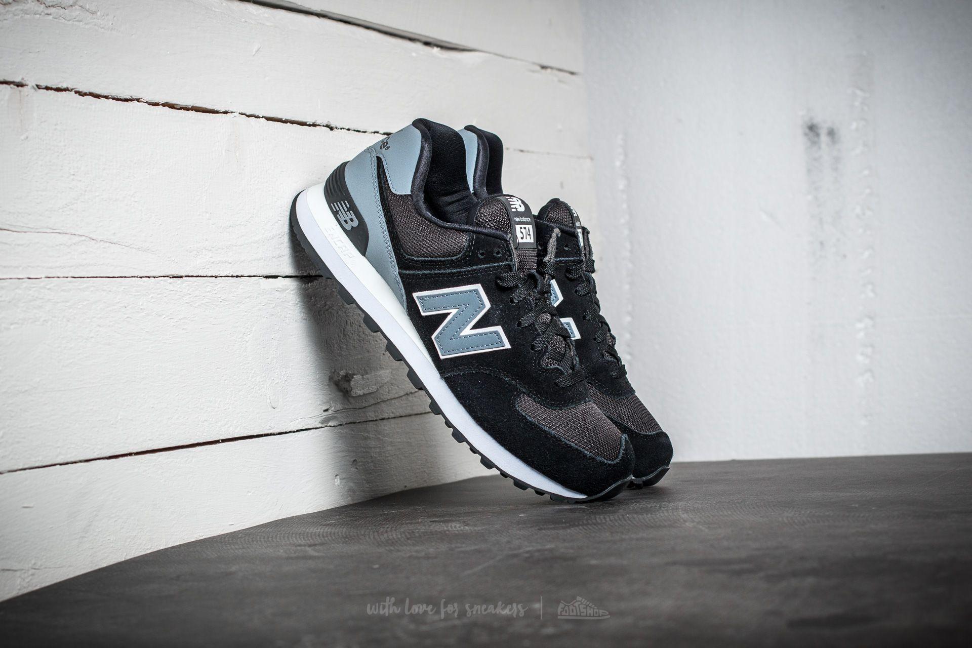 New Balance 574 Black/ Grey