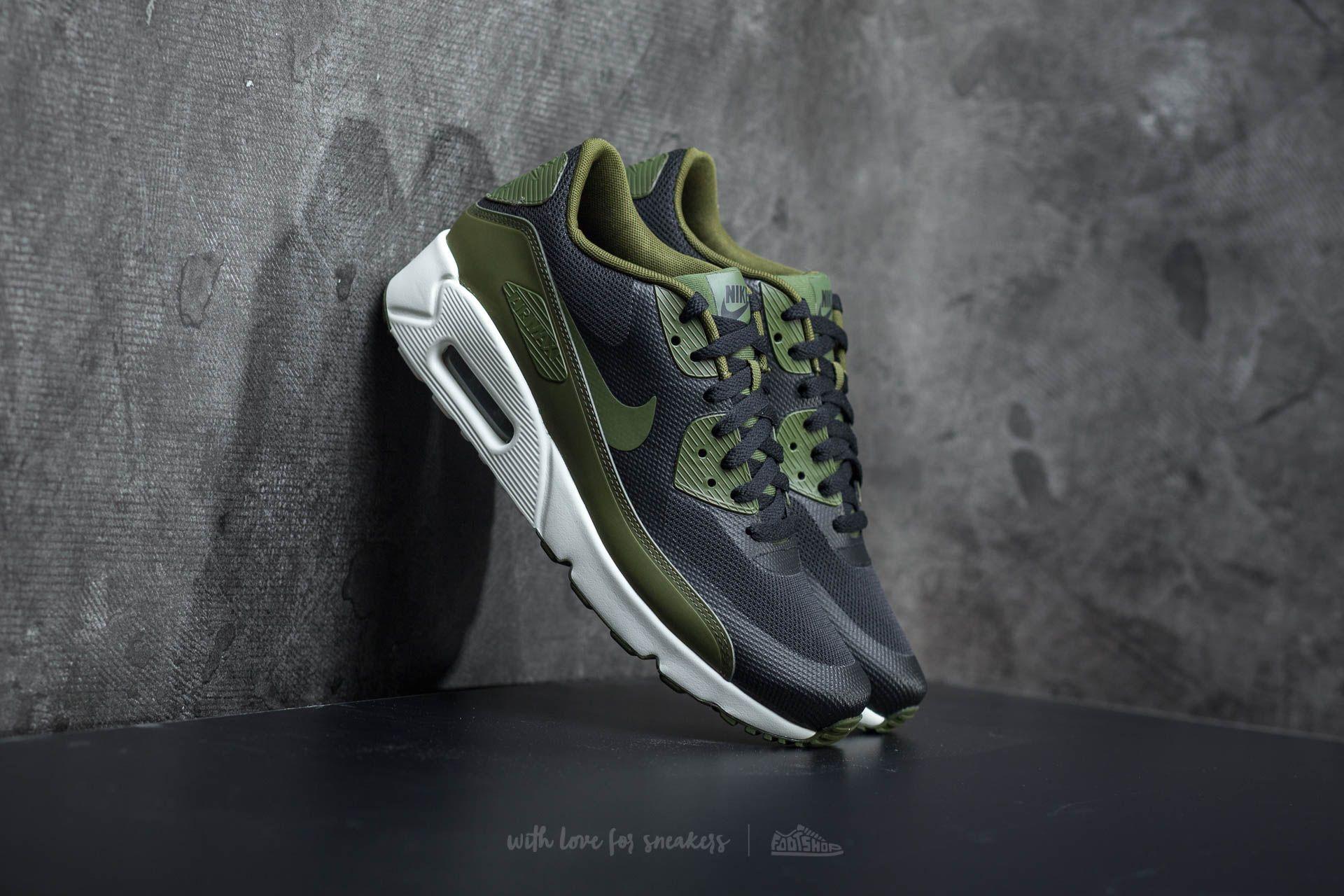 Nike Air Max 90 Ultra 2.0 Essential Black/ Legion Green-Sail