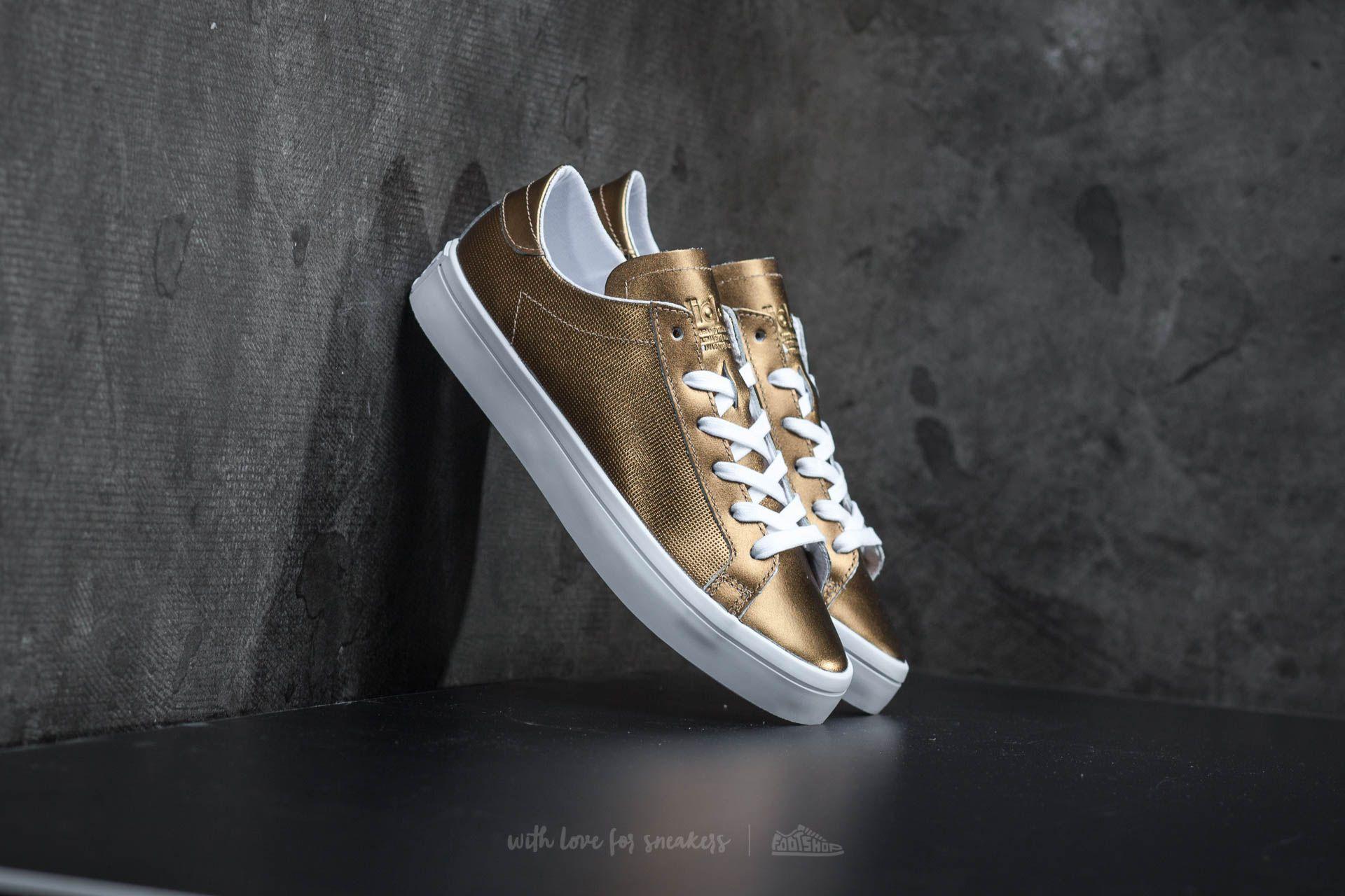 adidas Court Vantage W Copper Metallic/ Ftw White
