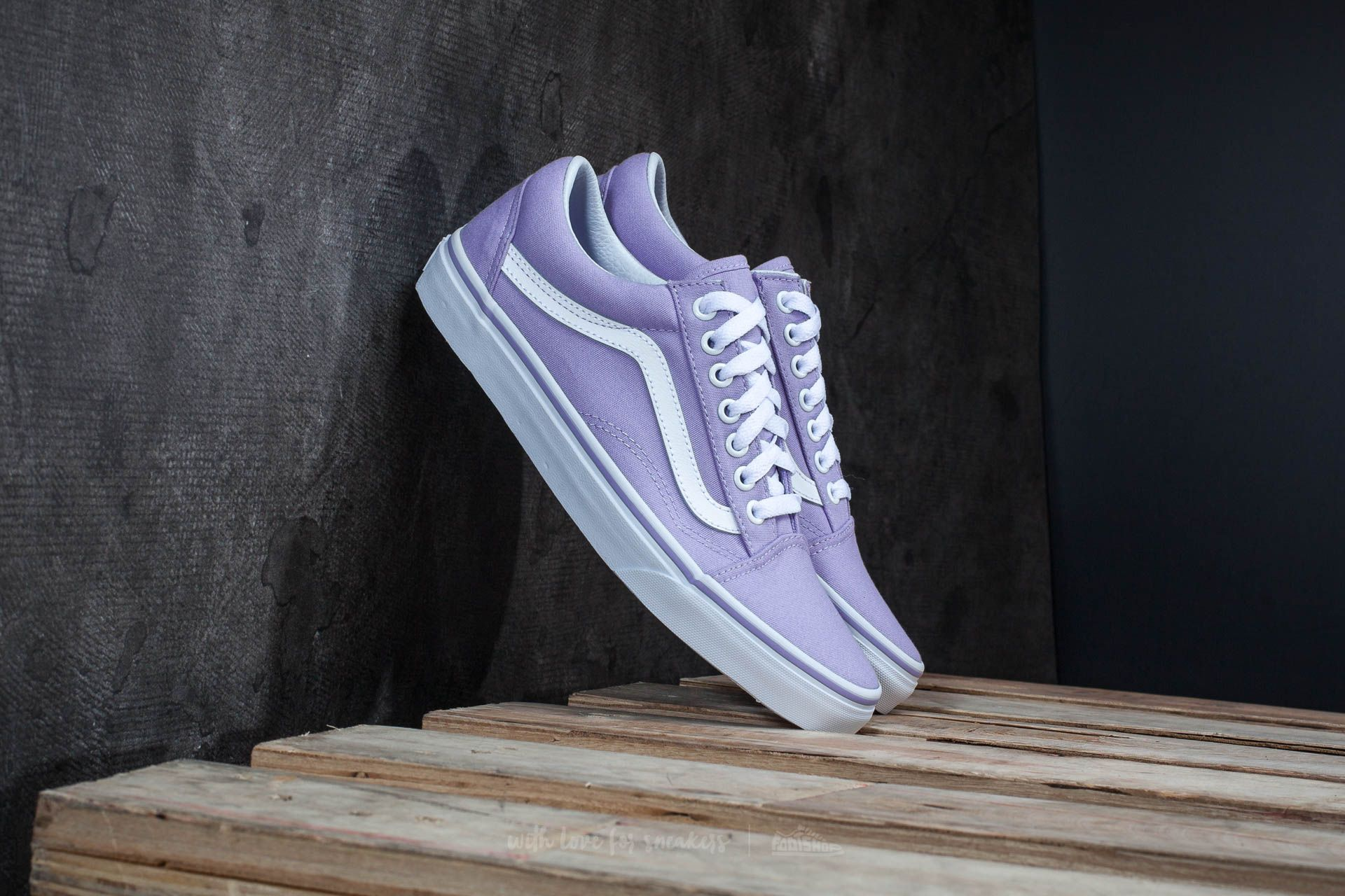 Vans Old Skool Lavender Lavender/ True White
