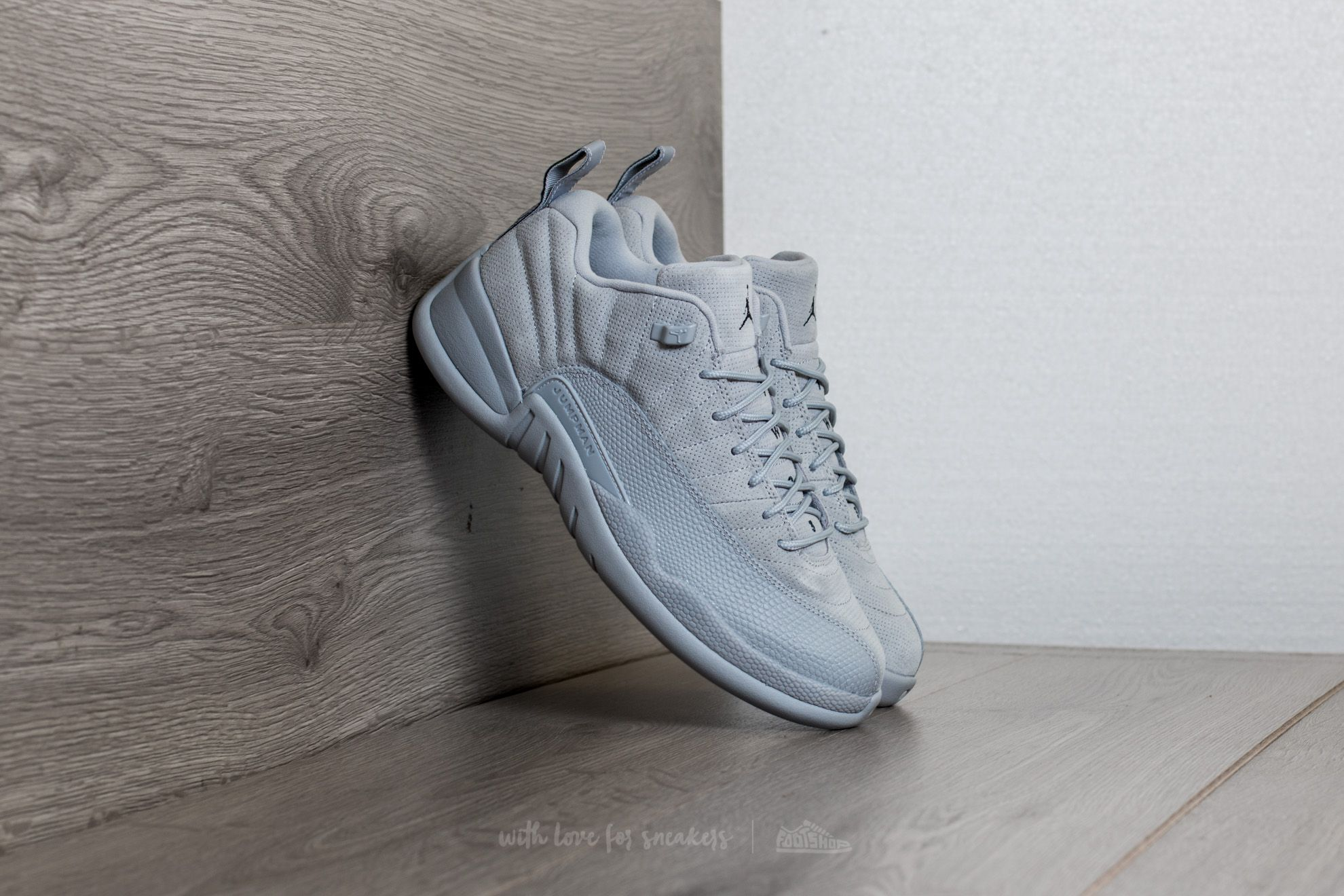 Air Jordan 12 Retro Low Wolf Grey/ Armory Navy