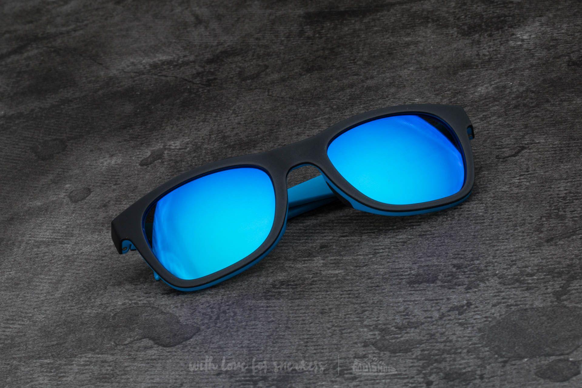 adidas x Italia Independent AOR004 Sunglasses Black/ Sky Led