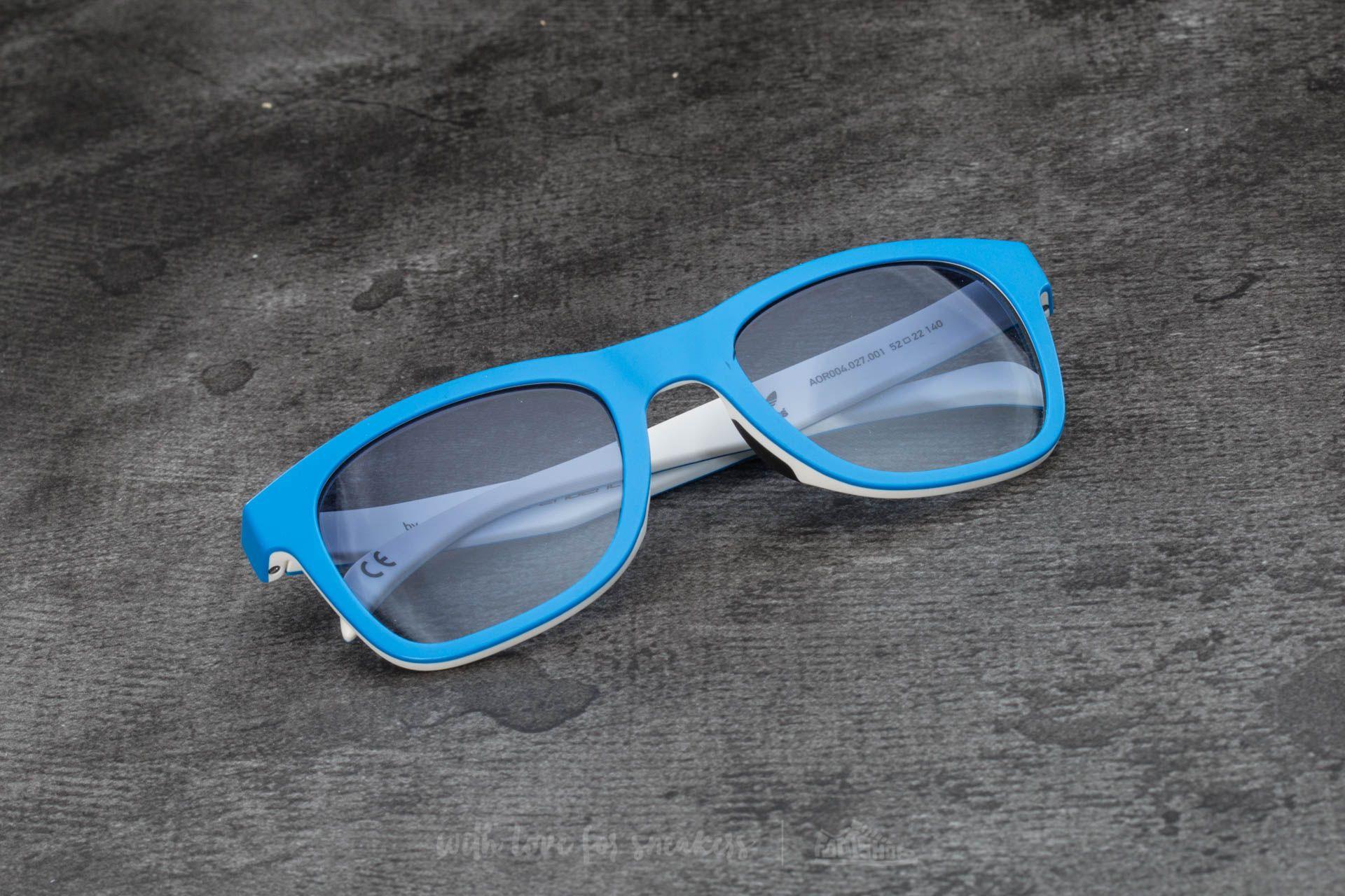 adidas x Italia Independent AOR004 Sunglasses Sky Led/ White