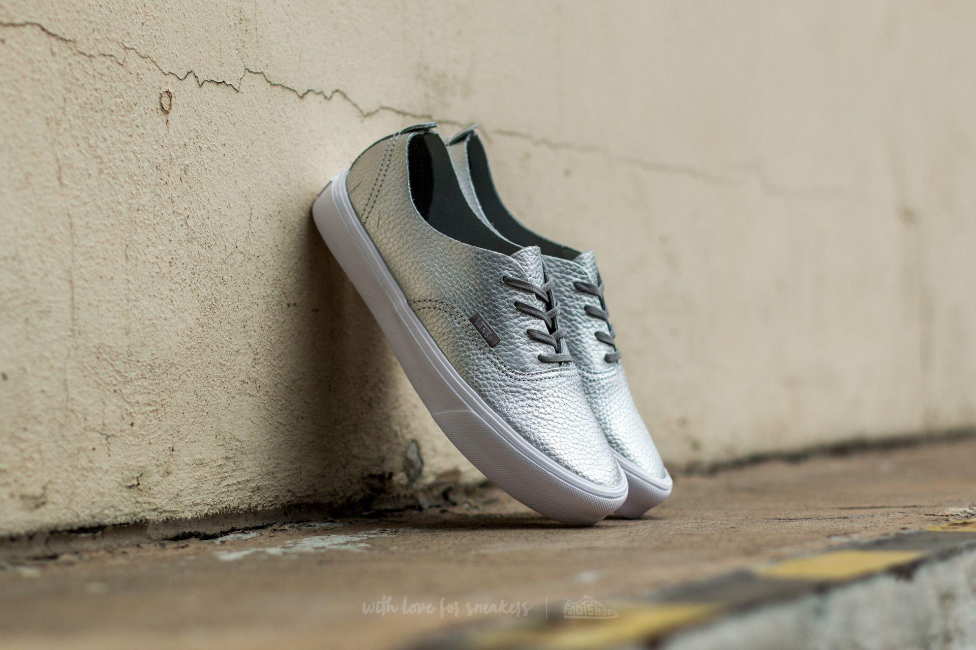 Vans Authentic Decon (Leather) Silver