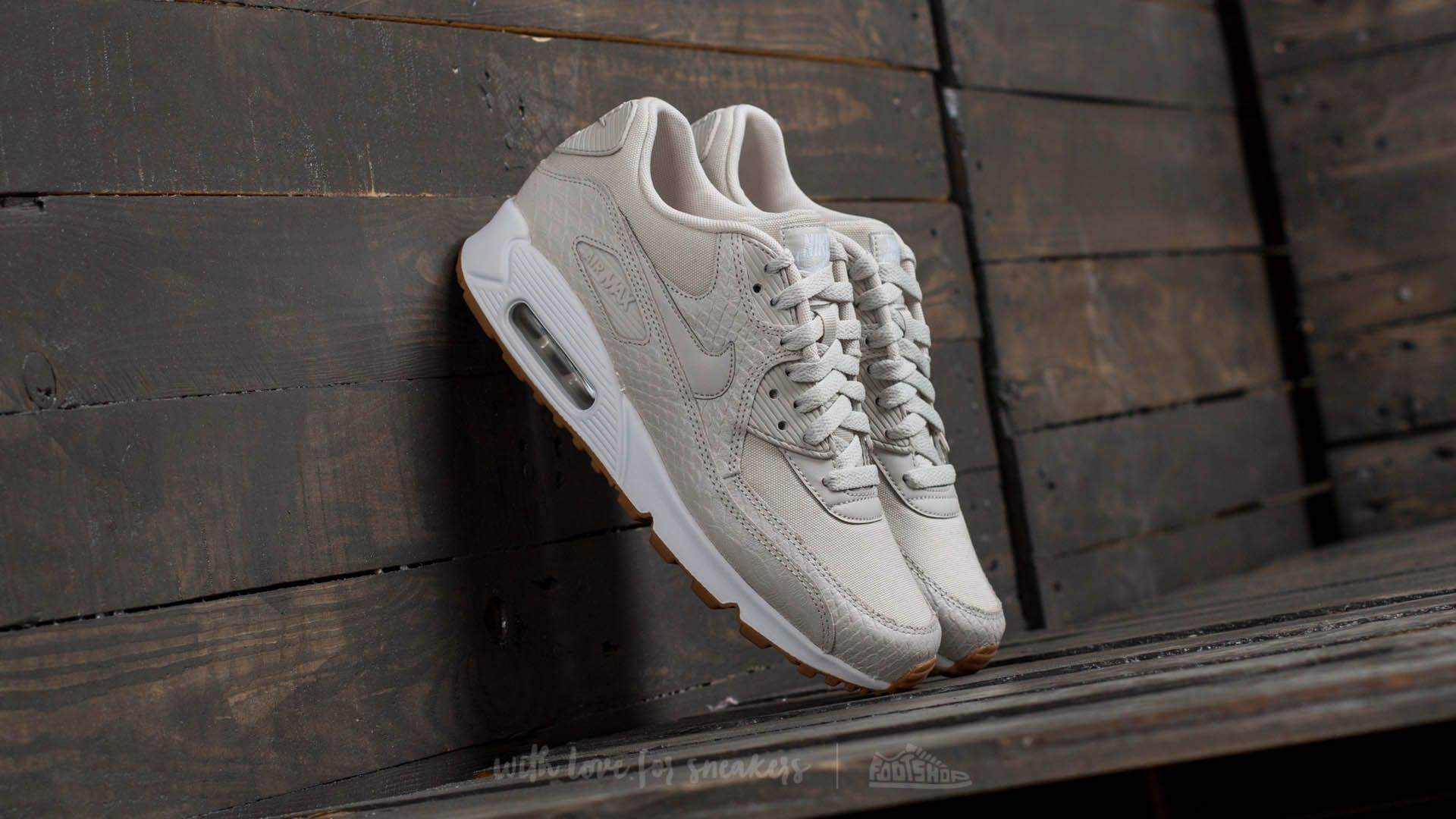 Nike Wmns Air Max 90 Premium Light Bone/ Light Bone