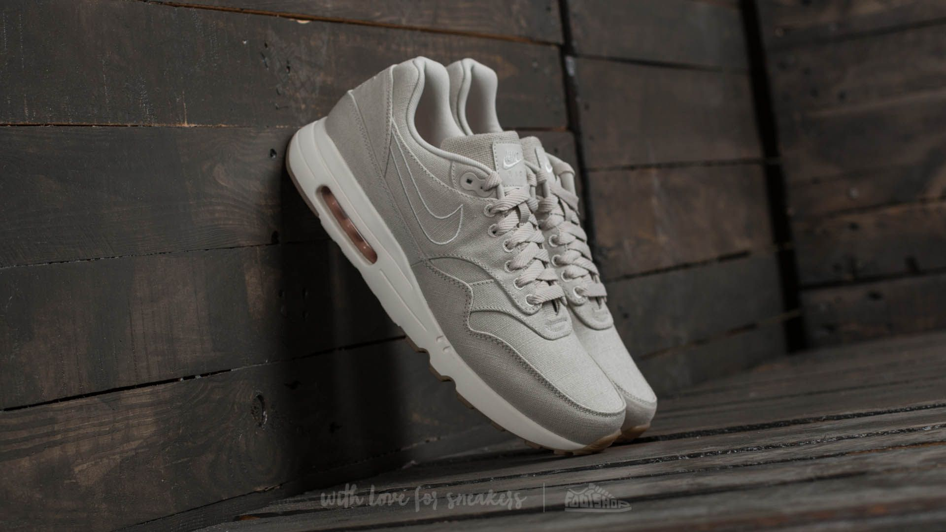 Nike Air Max 1 Ultra 2.0 Txt Light Bone/ Light Bone-Sail