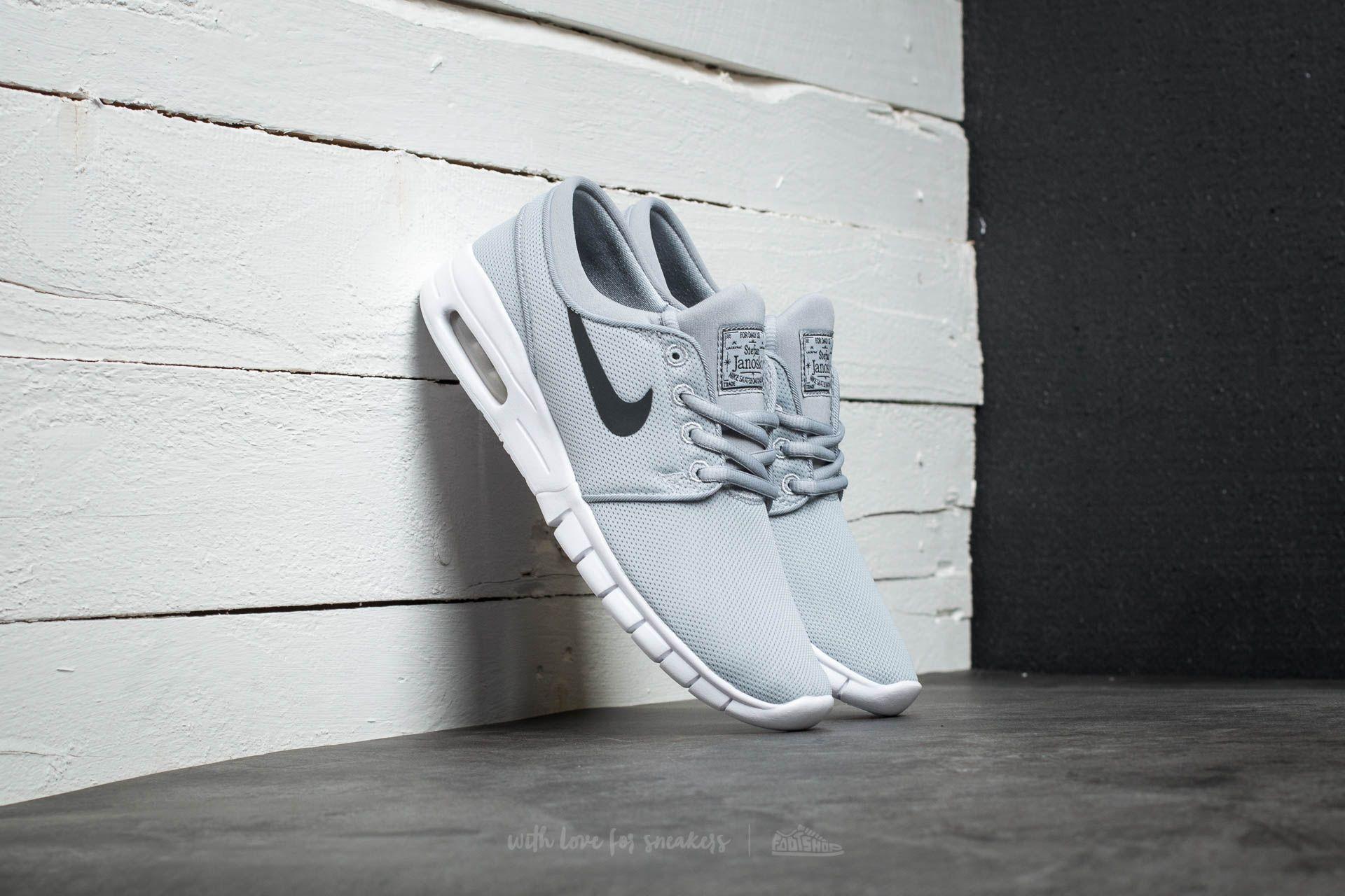 Nike Stefan Janoski Max (GS) Wolf Grey/ Black-White