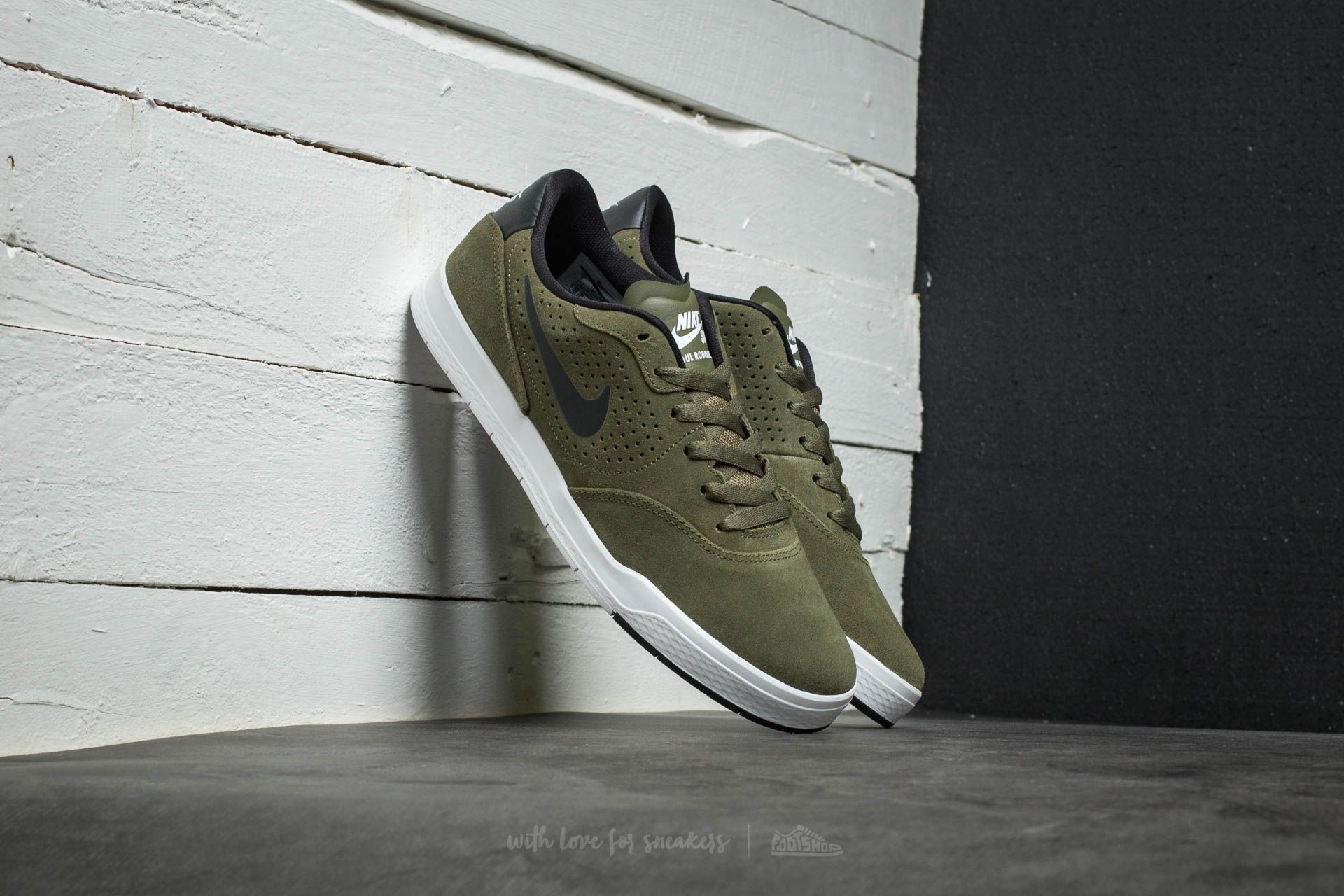 Nike Paul Rodriguez 9 CS Medium Olive/ Black-White