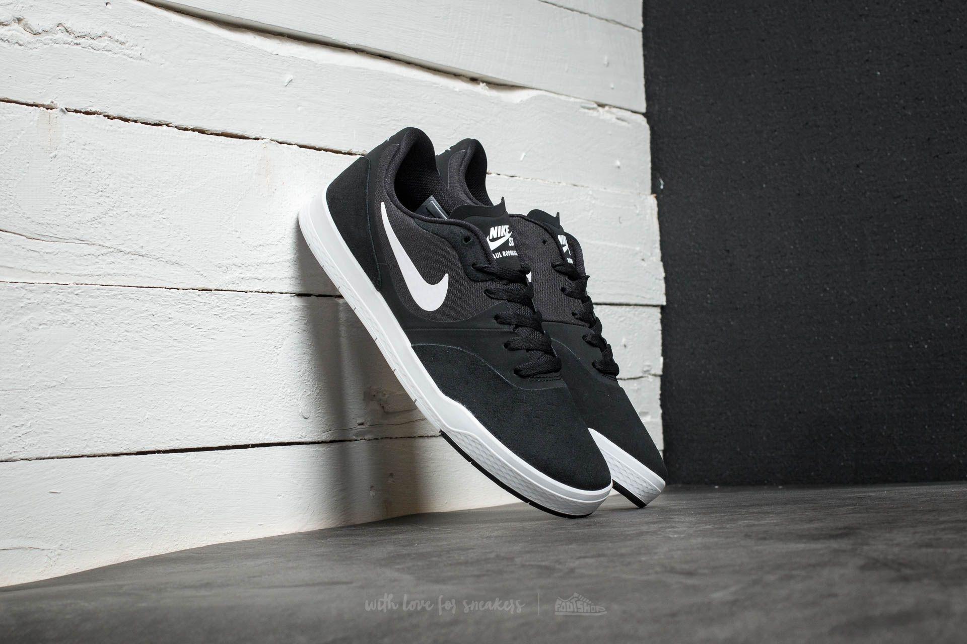 Nike Paul Rodriguez 9 CS Black/ White-Black