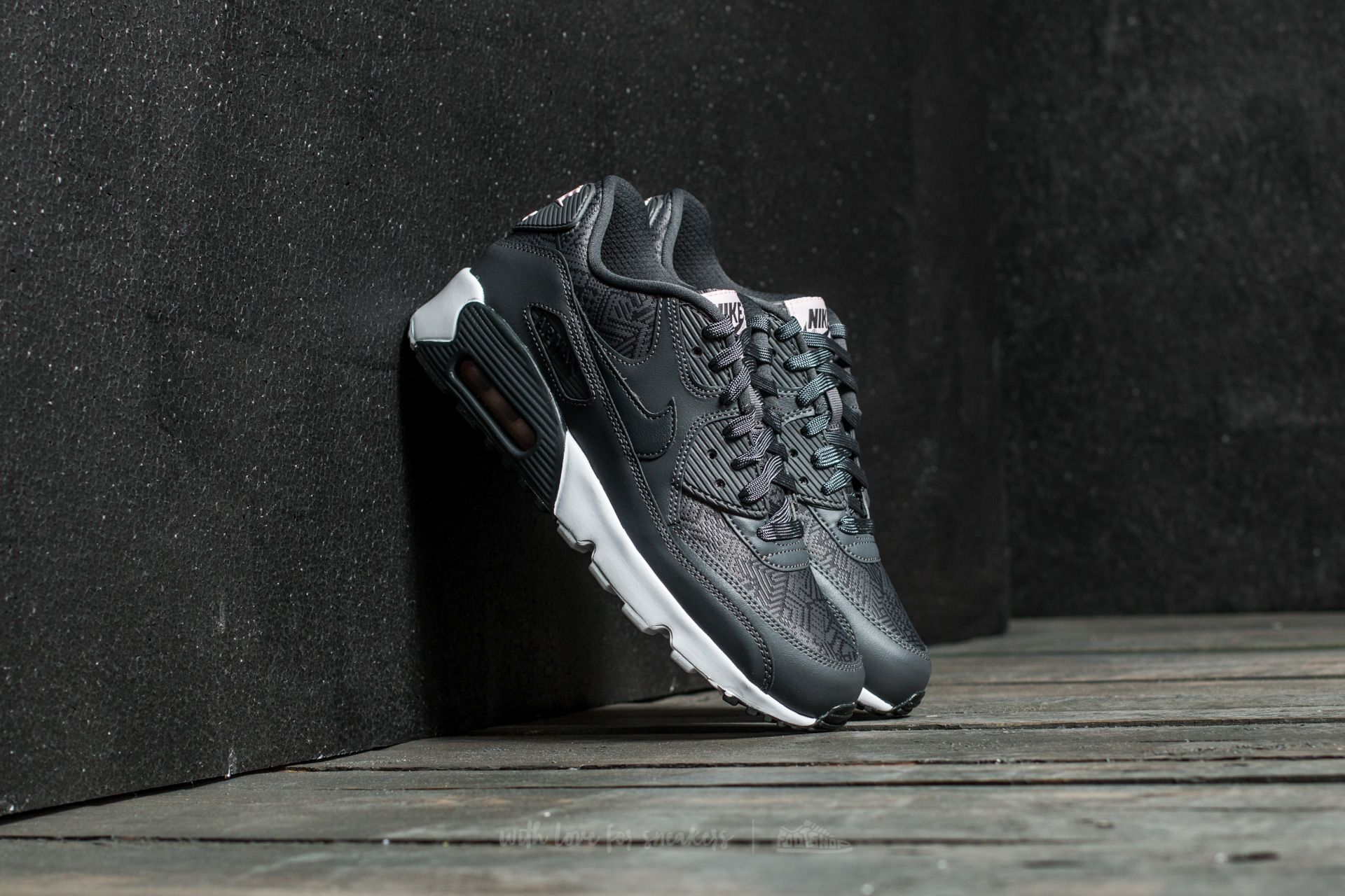 Nike Air Max 90 Se Mesh (GS) Dark Grey/ Anthracite-White