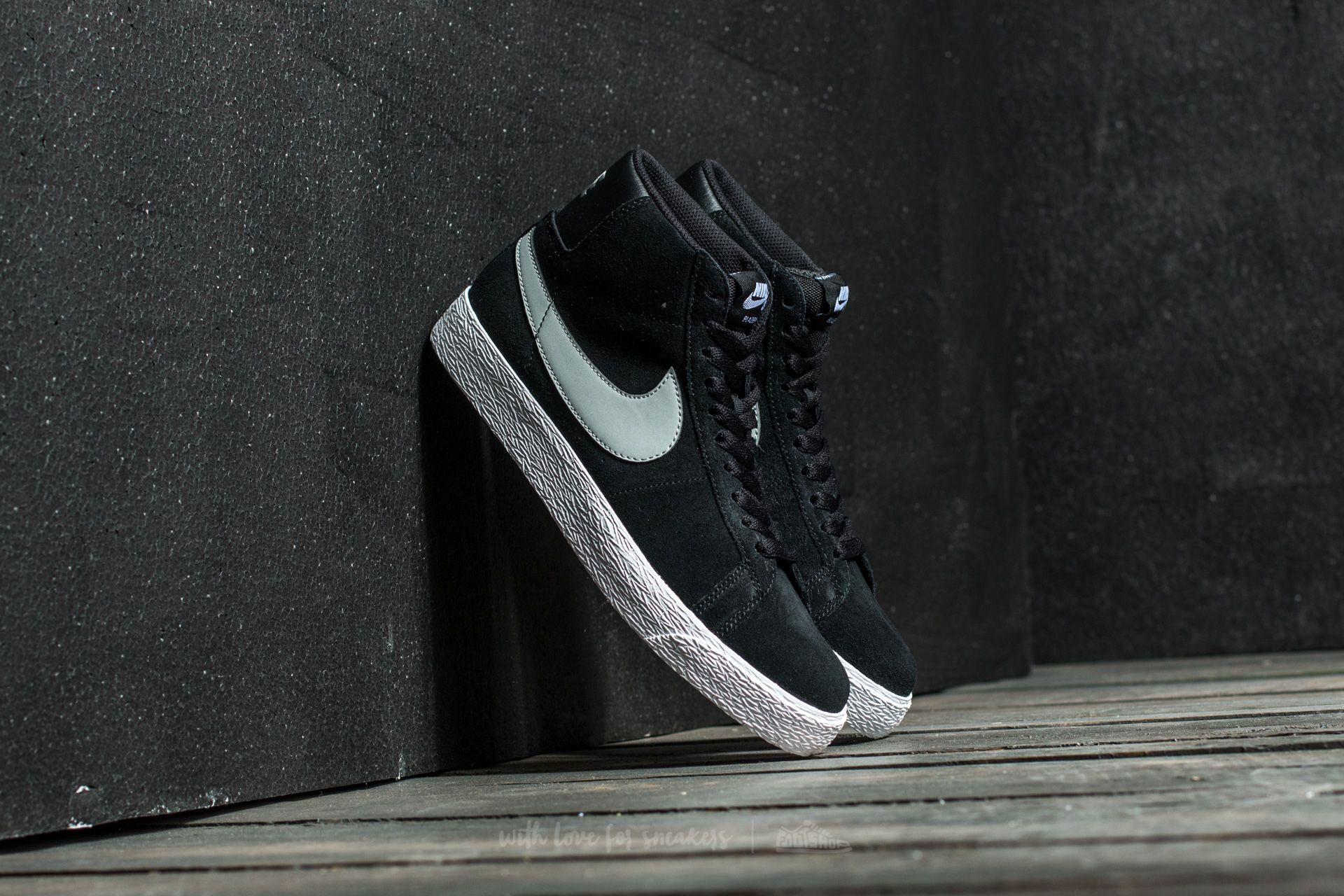 Nike Blazer Sb Premium Se Black/ Base Grey-White