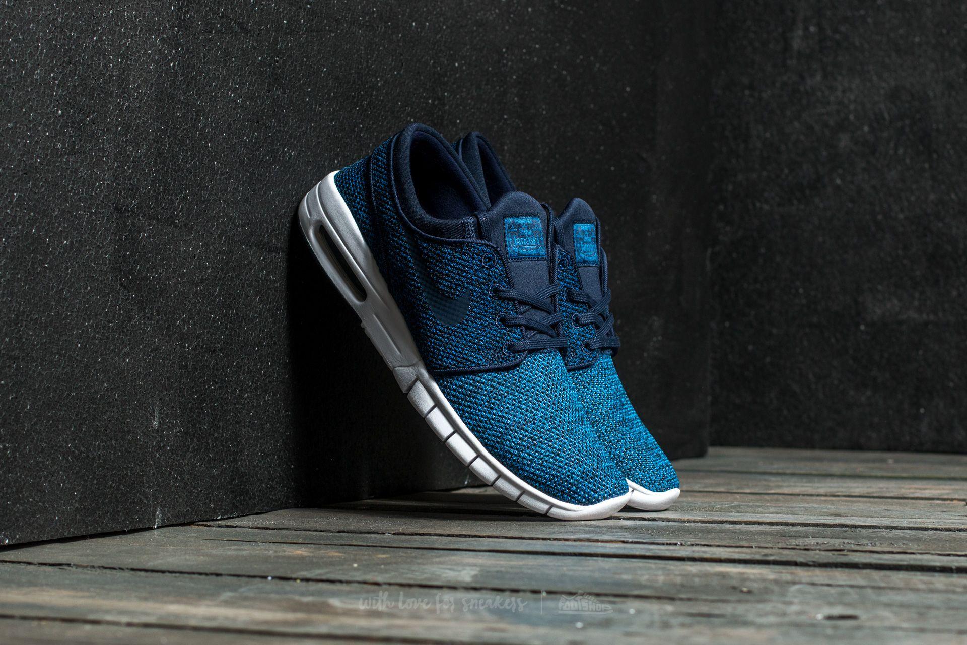 Nike Stefan Janoski Max Industrial Blue/ Obsidian