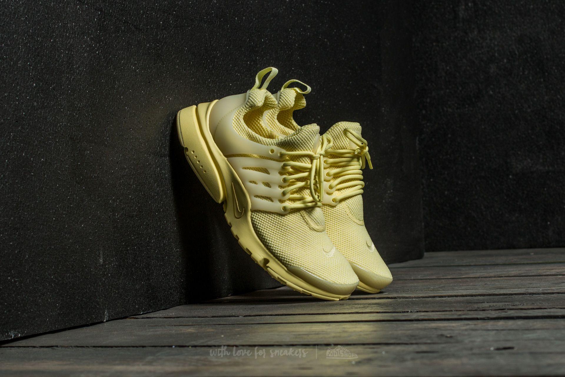 Nike Air Presto Ultra BR Lemon Chiffon/ Lemon Chiffon