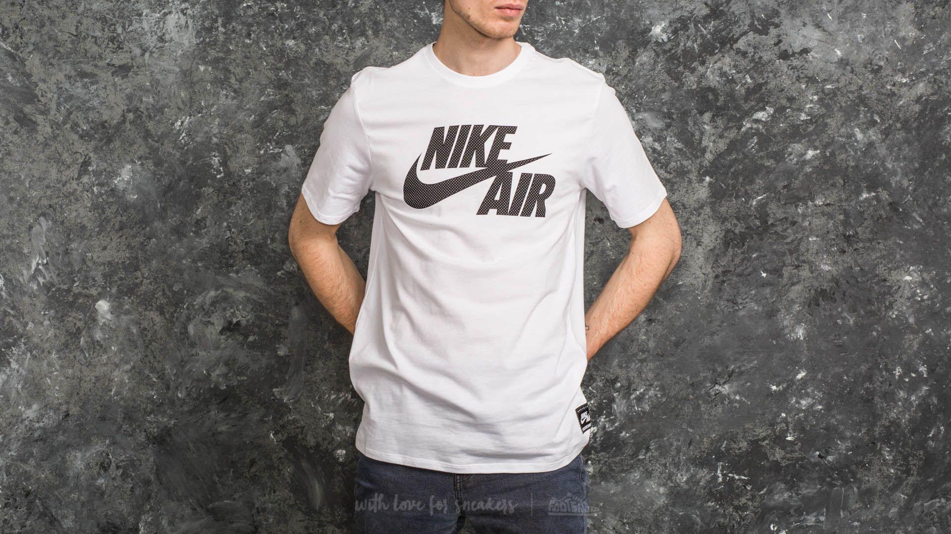Nike Sportswear Air Logo Tee White/ Black