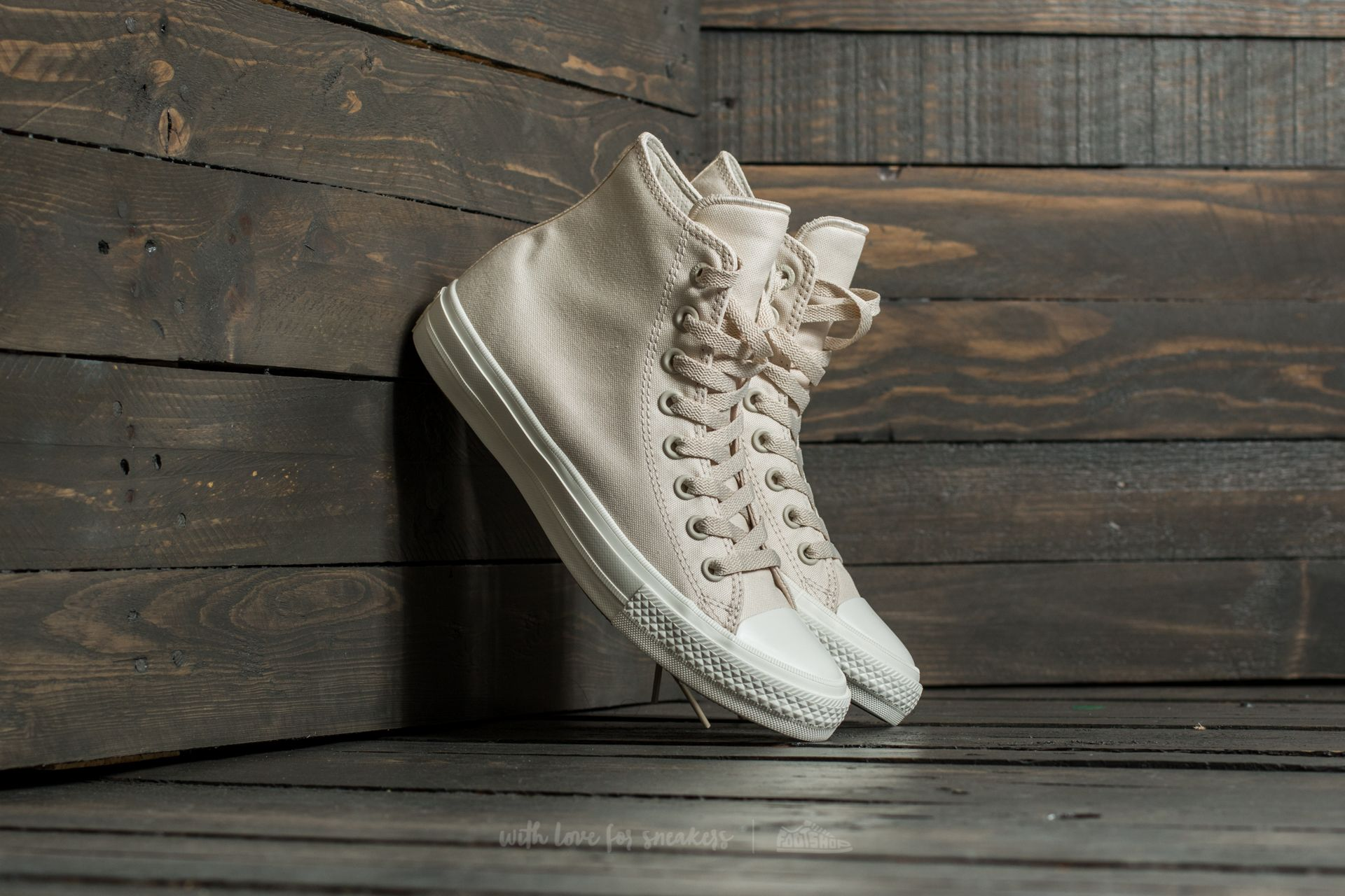 Converse Chuck Taylor AS II Hi Parchment/ Navy/ White