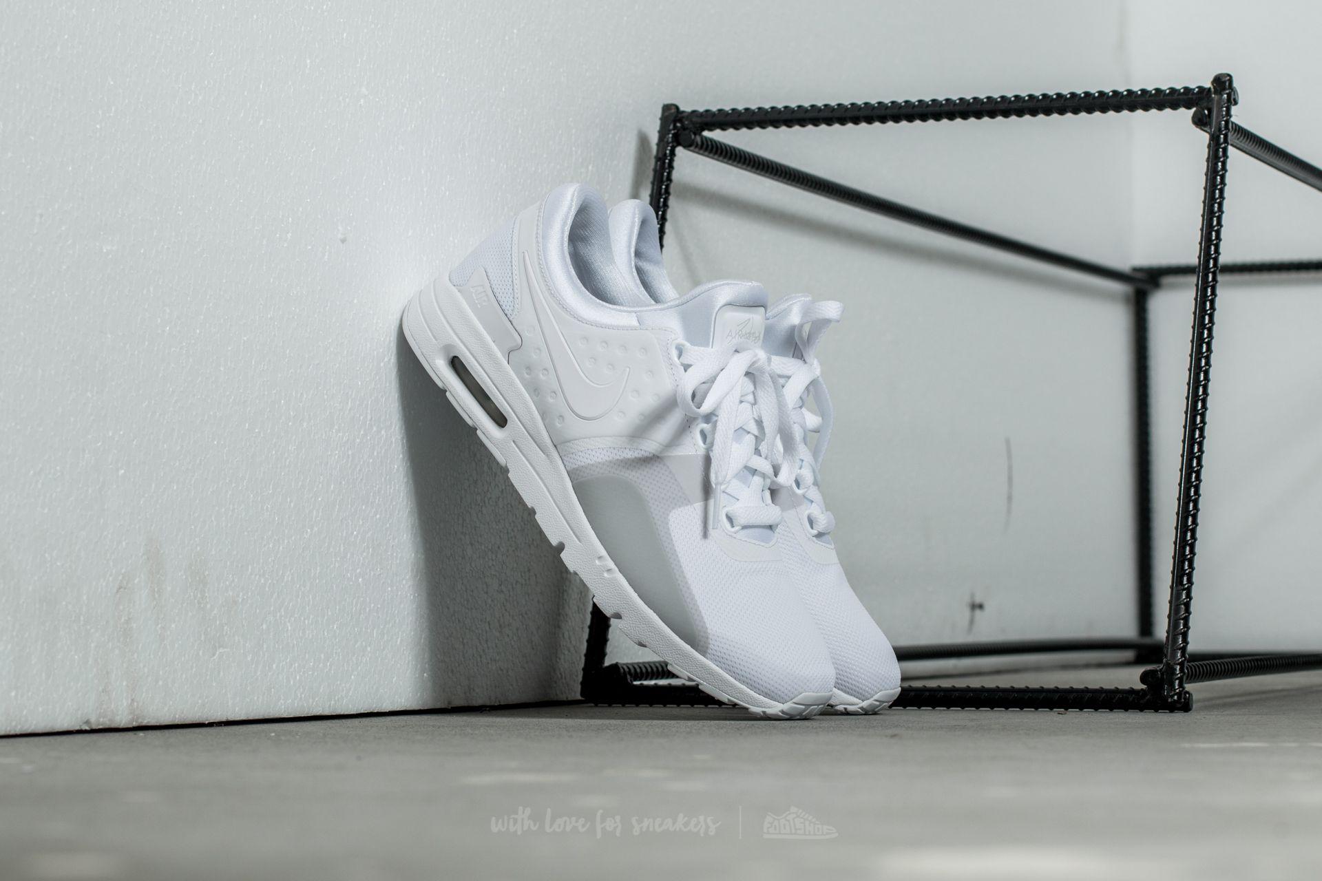 Nike W Air Max Zero White/ White-Pure Platinum
