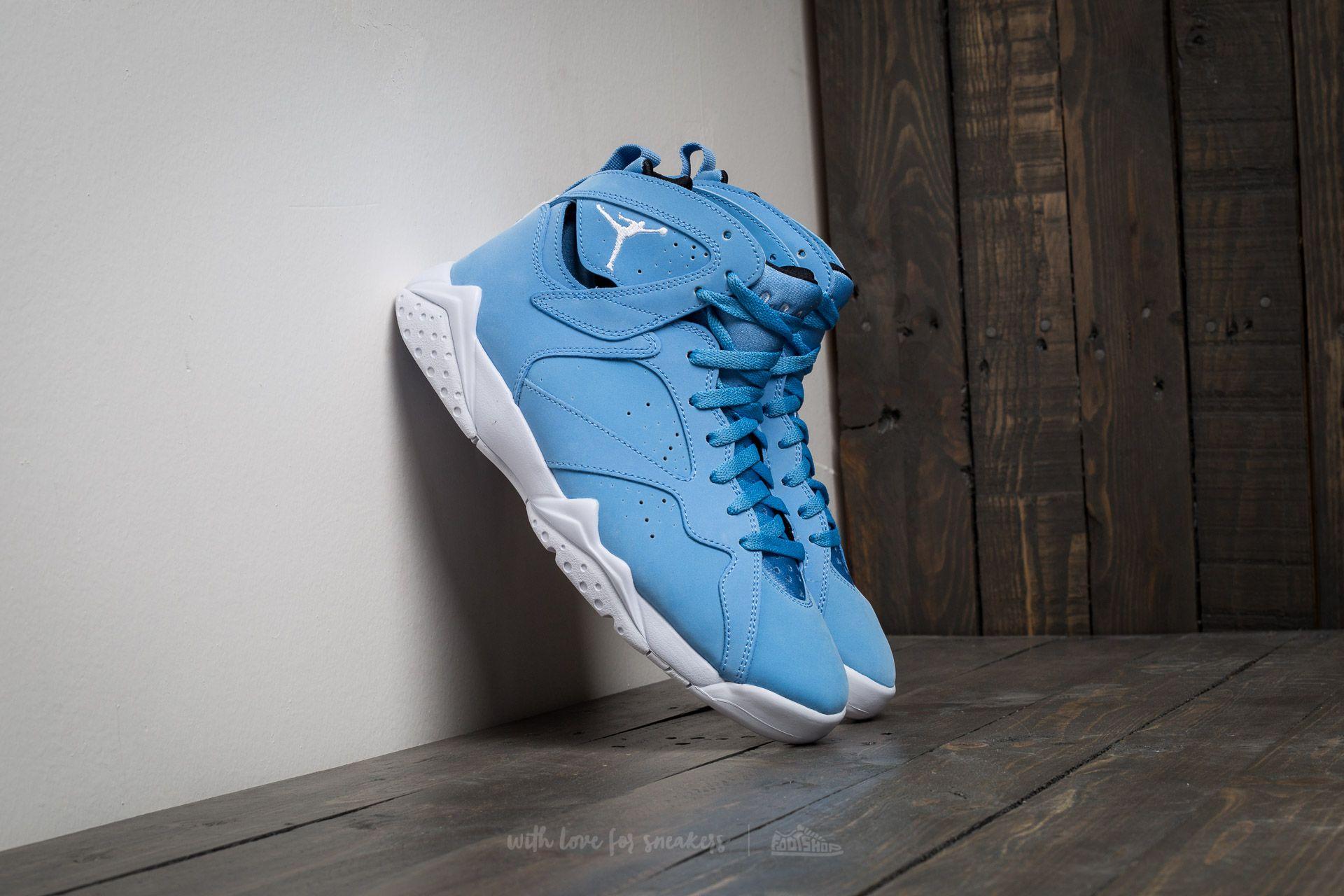 Air Jordan 7 Retro University Blue/ White-white