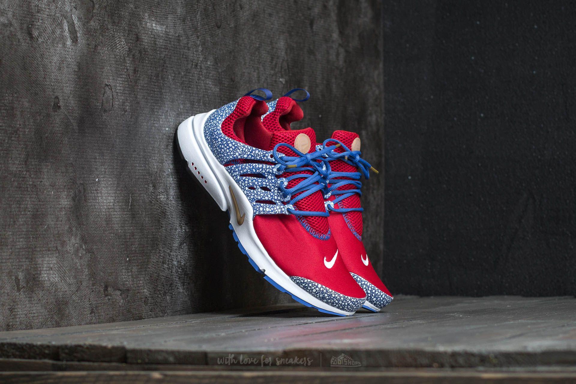 Nike Air Presto QS Gym Red/ Racer Blue-White