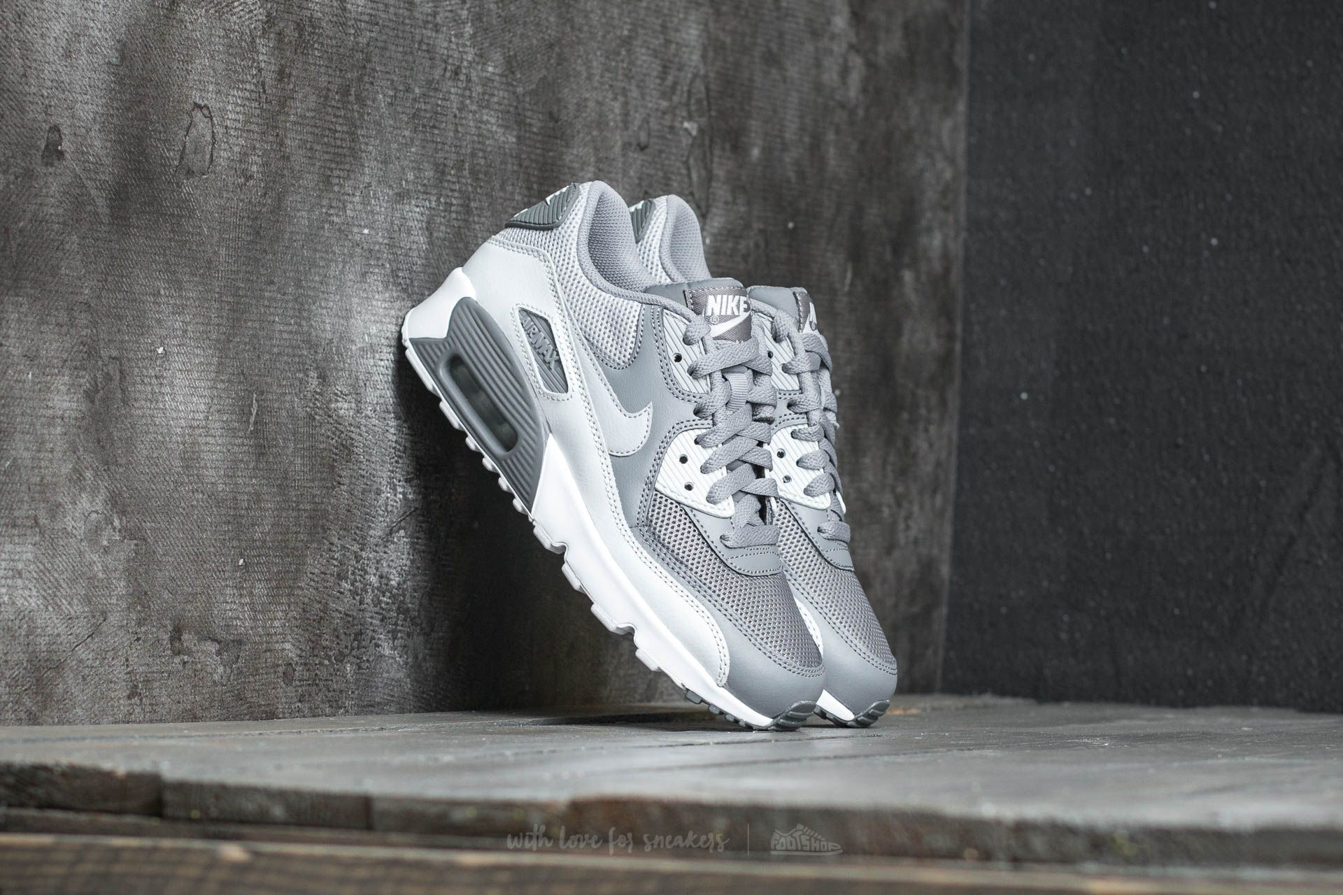 Nike Air Max 90 Mesh (GS) Cool Grey/ Wolf Grey