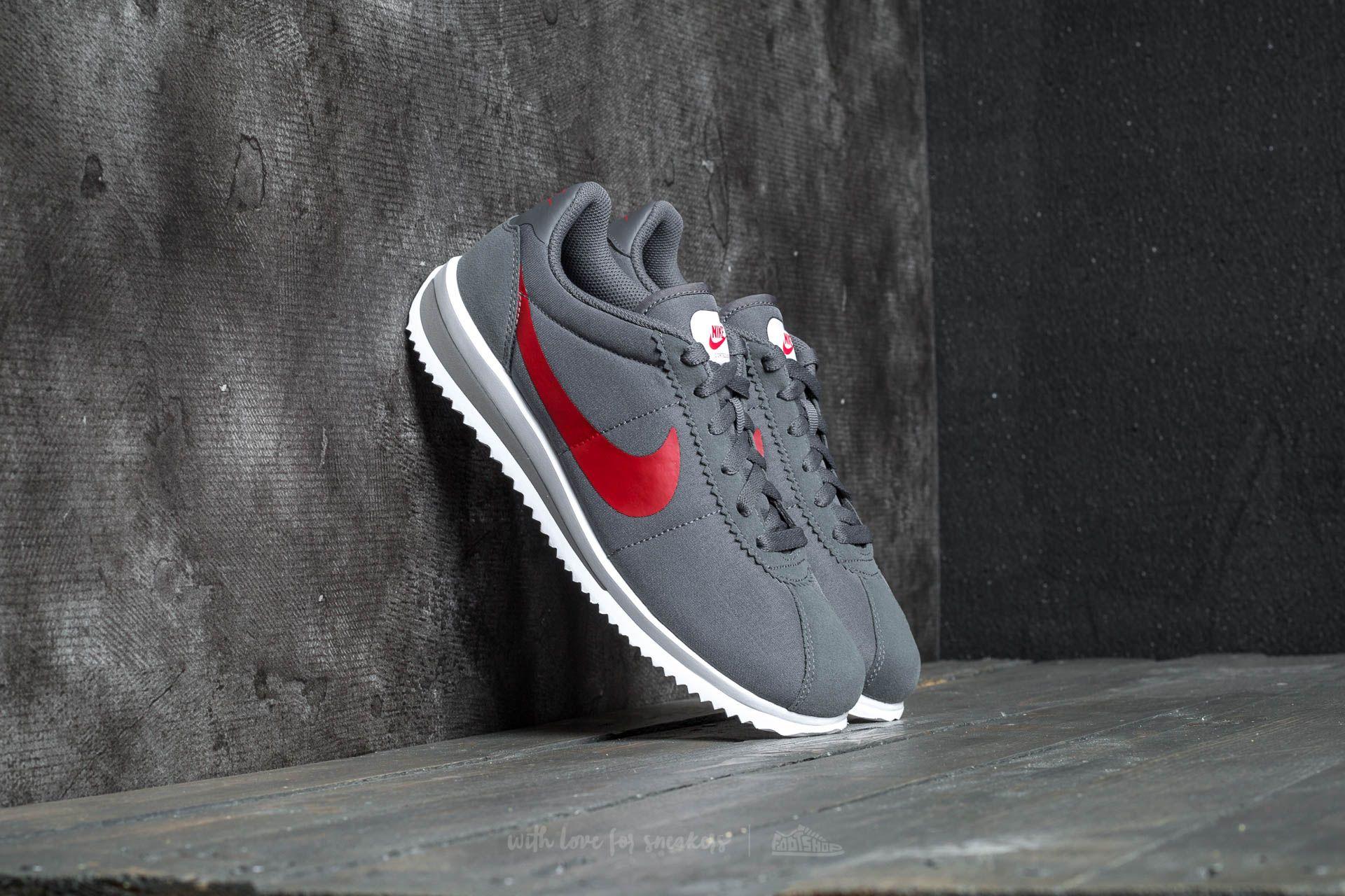 Nike Cortez Ultra (GS) Dark Grey/ University Red