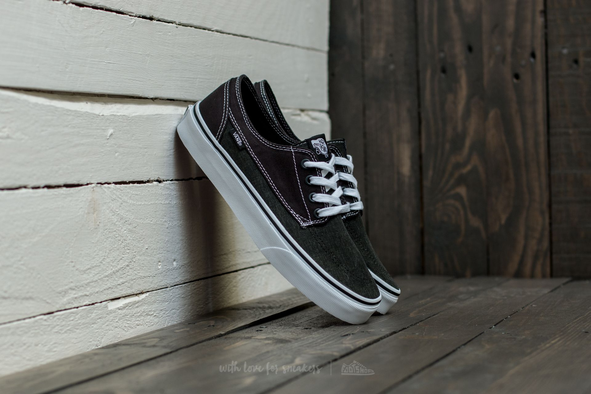 Vans Brigata (Washed Canvas) Pirate Black