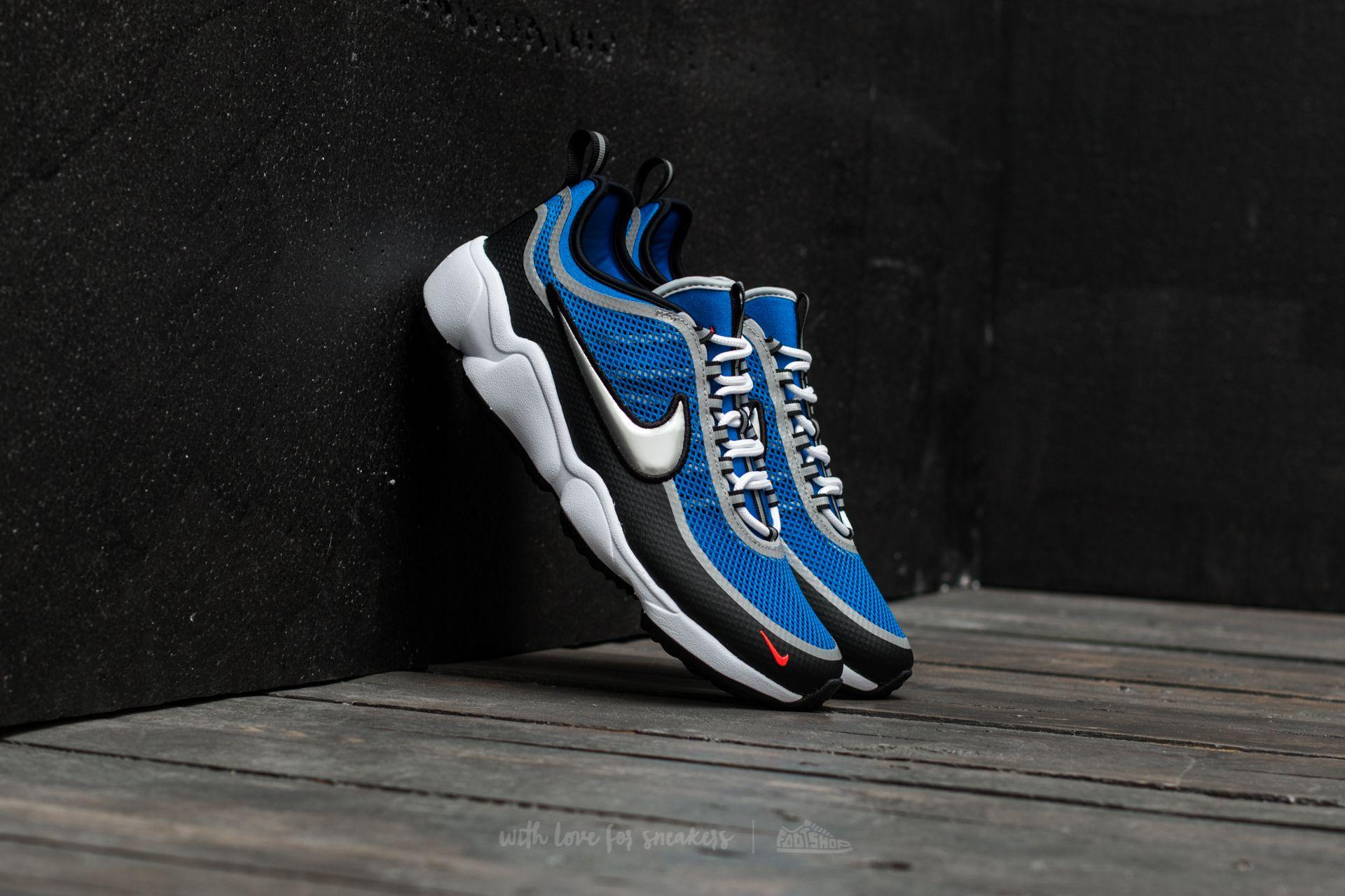 Nike Zoom Spiridon Regal Blue/ Metallic Silver