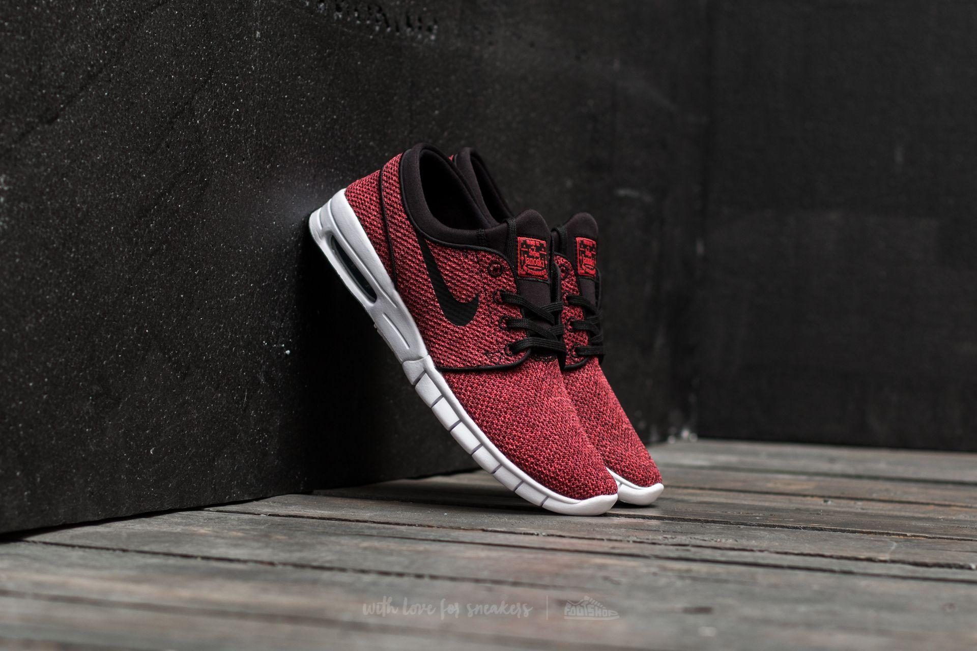Nike Stefan Janoski Max Track Red/ Black-Cedar