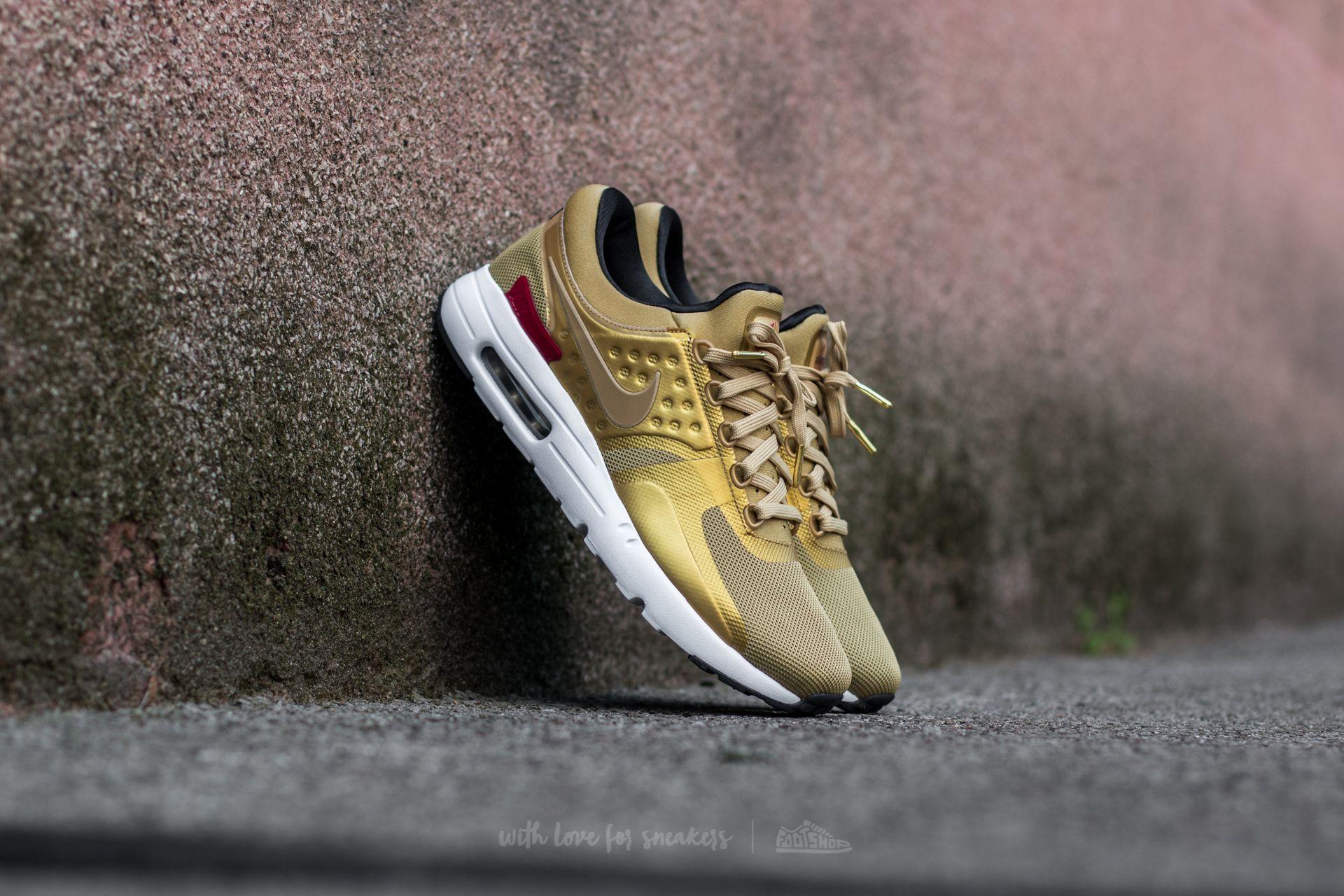 Nike W Air Max Zero QS Metallic Gold/ Varsity Red
