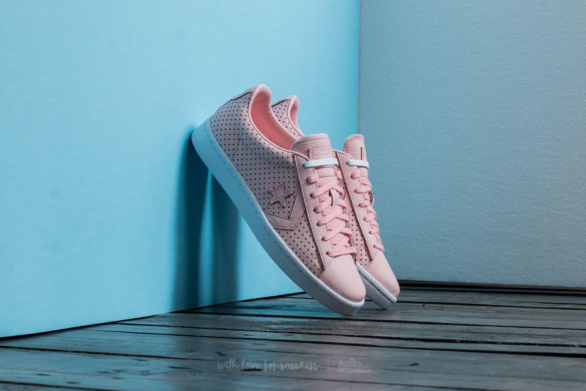 Converse Pro Leather 76 OX Vapor Pink/ Vapor Pink/ White