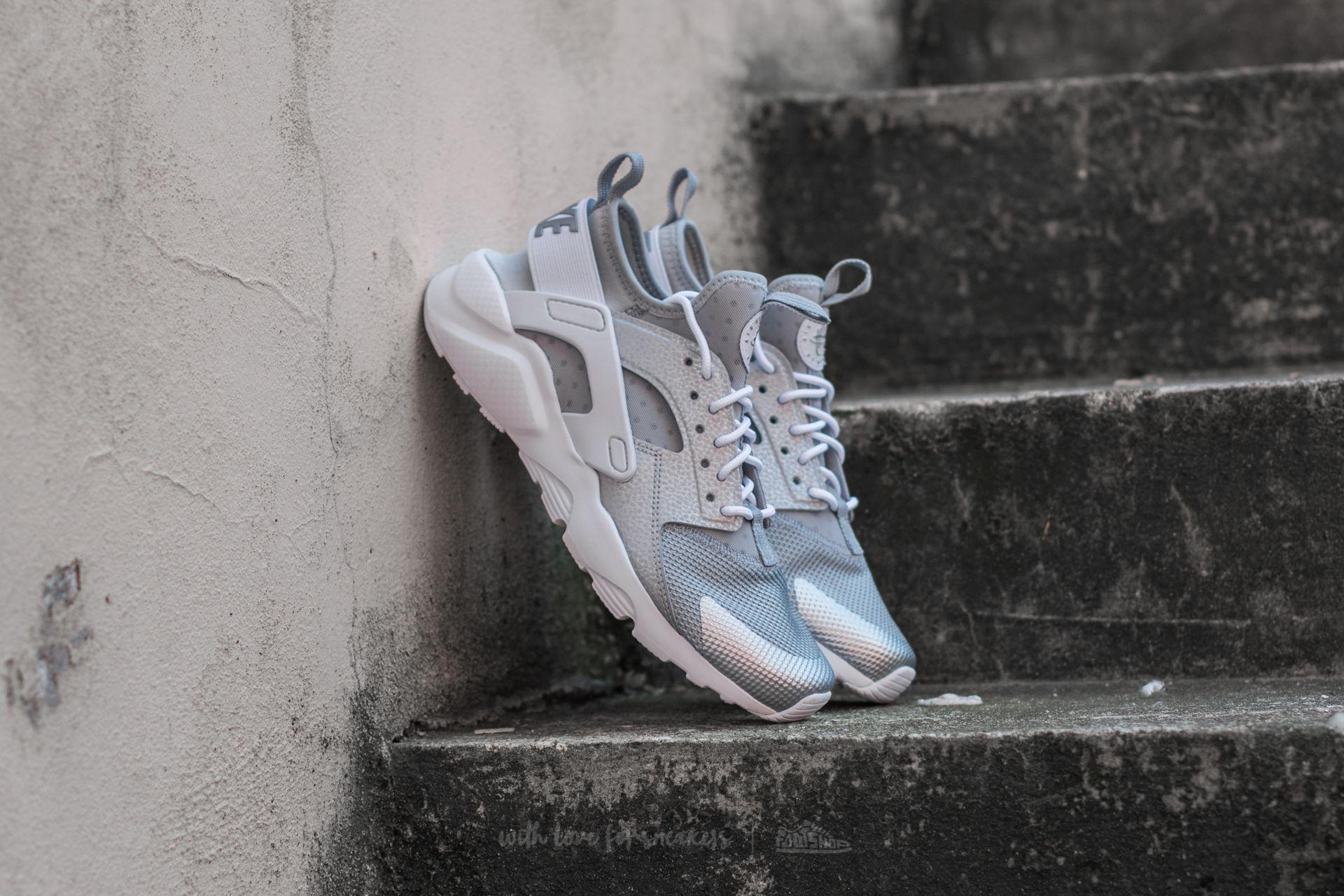 Nike Air Huarache Run Ultra GS Metallic Silver