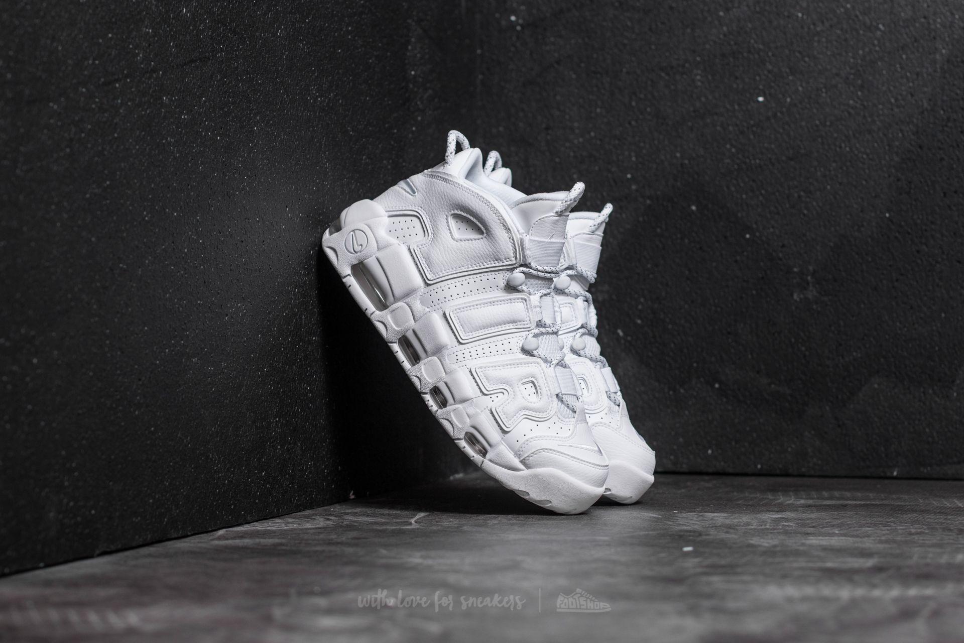 Nike Air More Uptempo White/ White-White