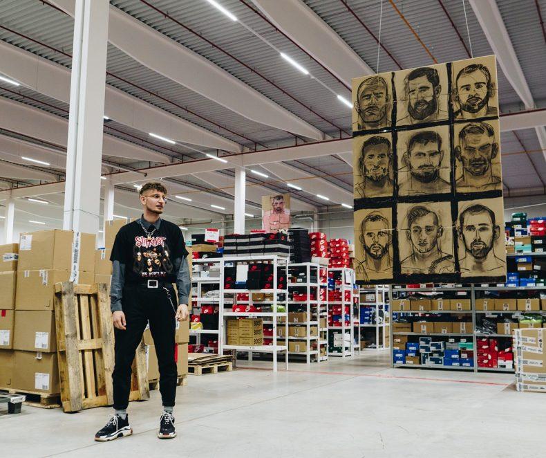 Rozhovor: Martin Lukáč o výstavě Mann in Flammen by Martin Lukáč