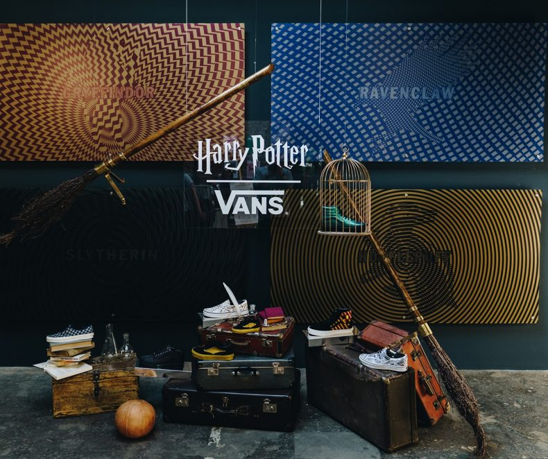 Kouzelnický svět ve Vnitroblocku ft. Vans x Harry Potter