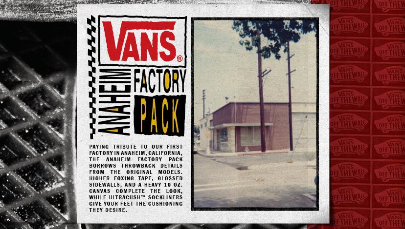 Proč Vans Anaheim Factory?