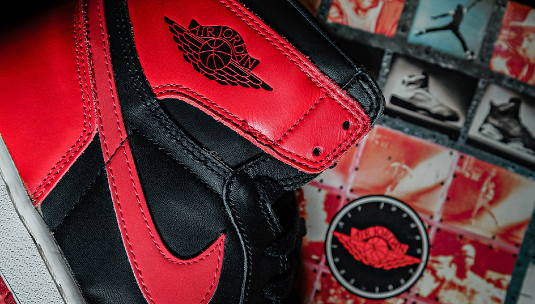 První retro vydání Jordans